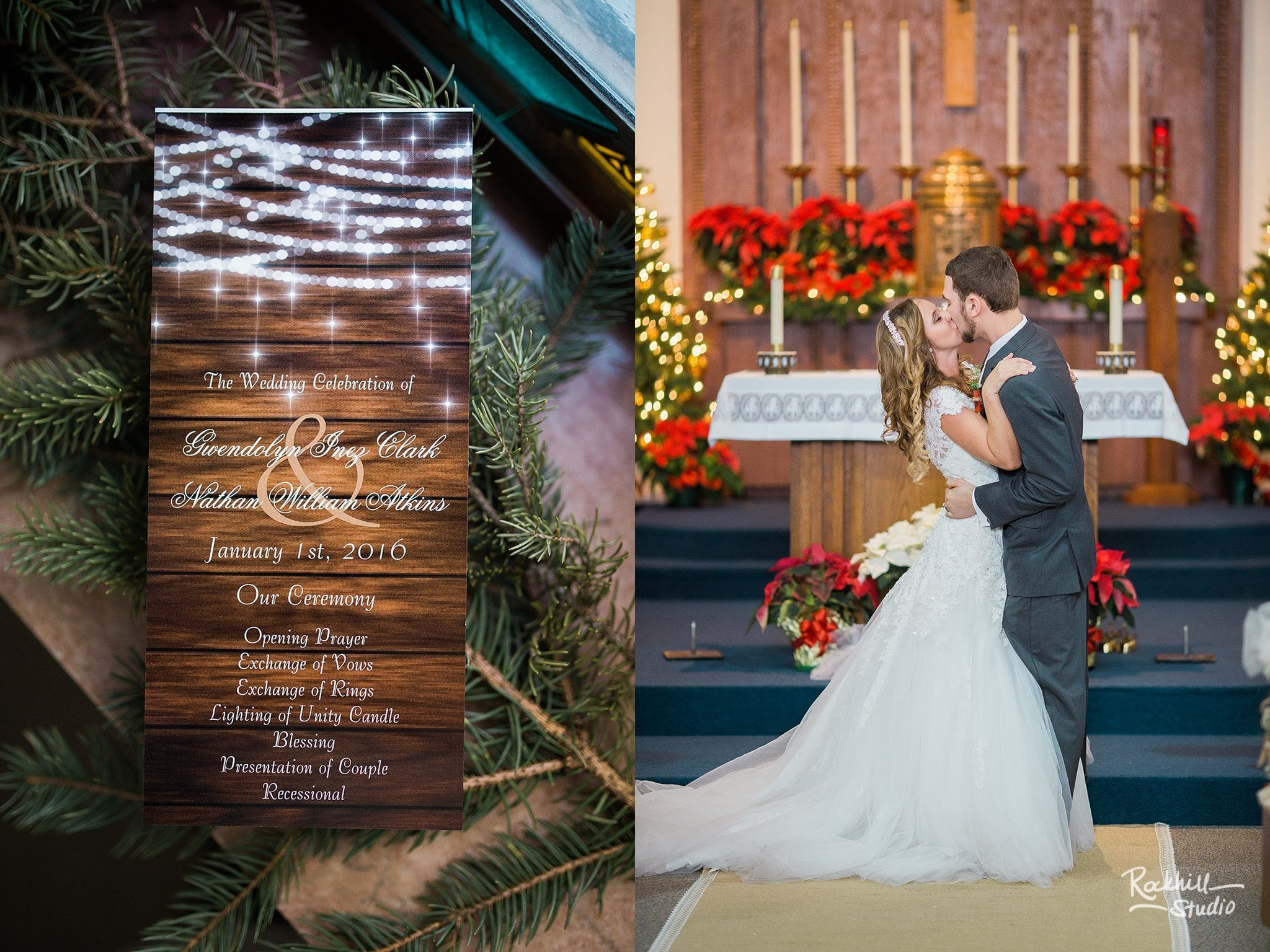 marquette-wedding-photographer-winter-wedding-upper-peninsula-kiss-at-the-alter.jpg