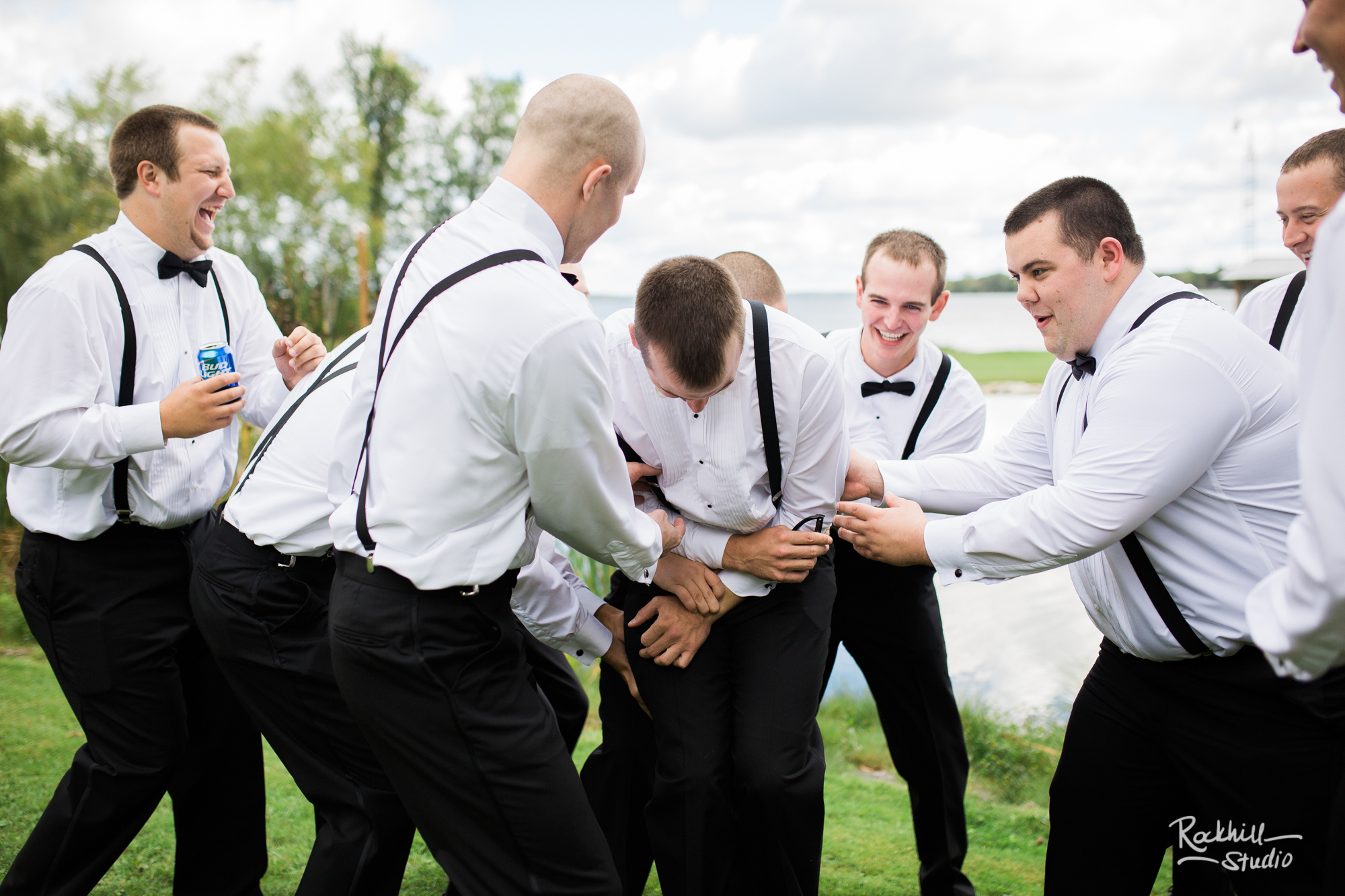 rockhill studio curtis michigan wedding