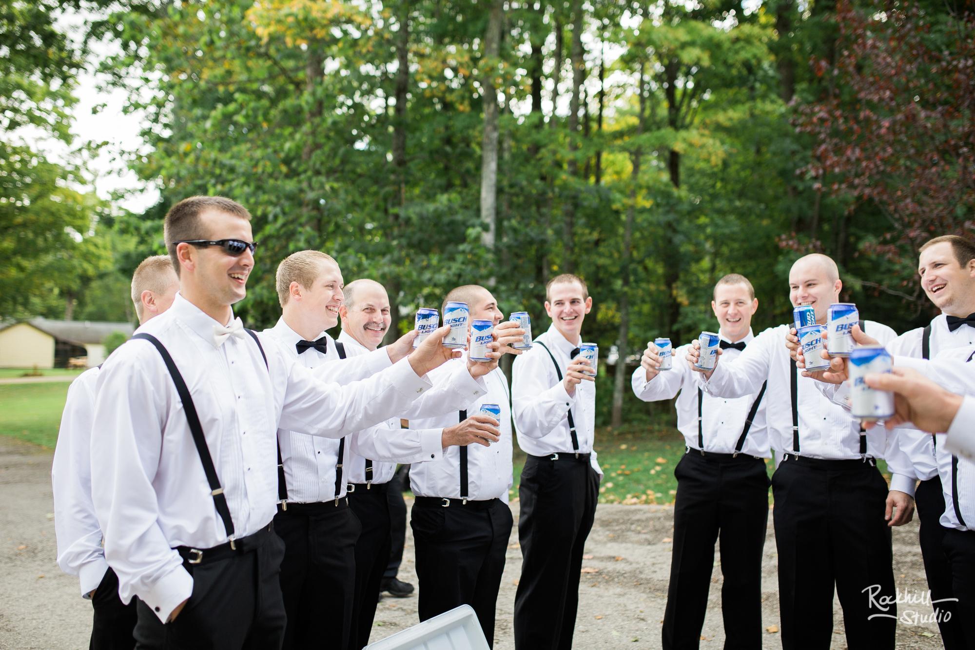 rockhill-studio-michigan-wedding-upper-peninsula-large-groomsen-party-candid-jpg
