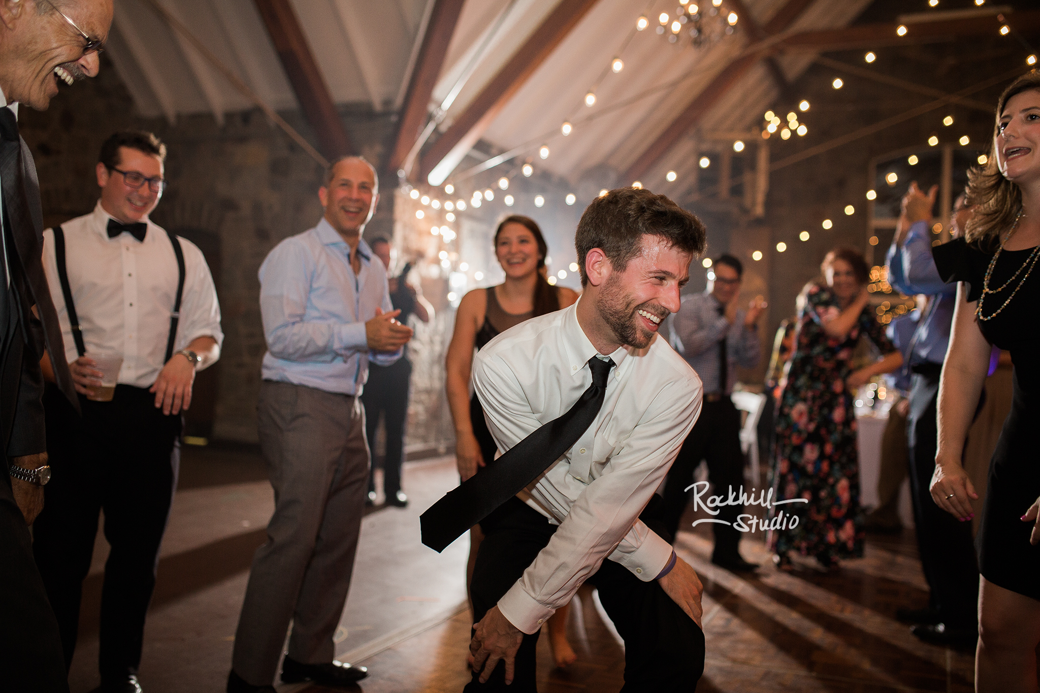 traverse city wedding photography reception guests dancing
