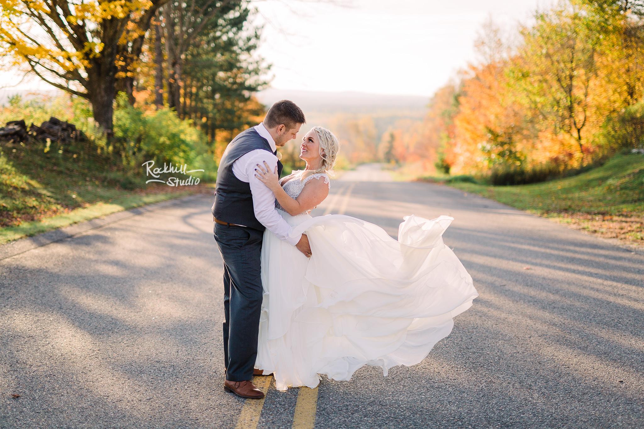 Traverse city wedding photography bride and groom 1