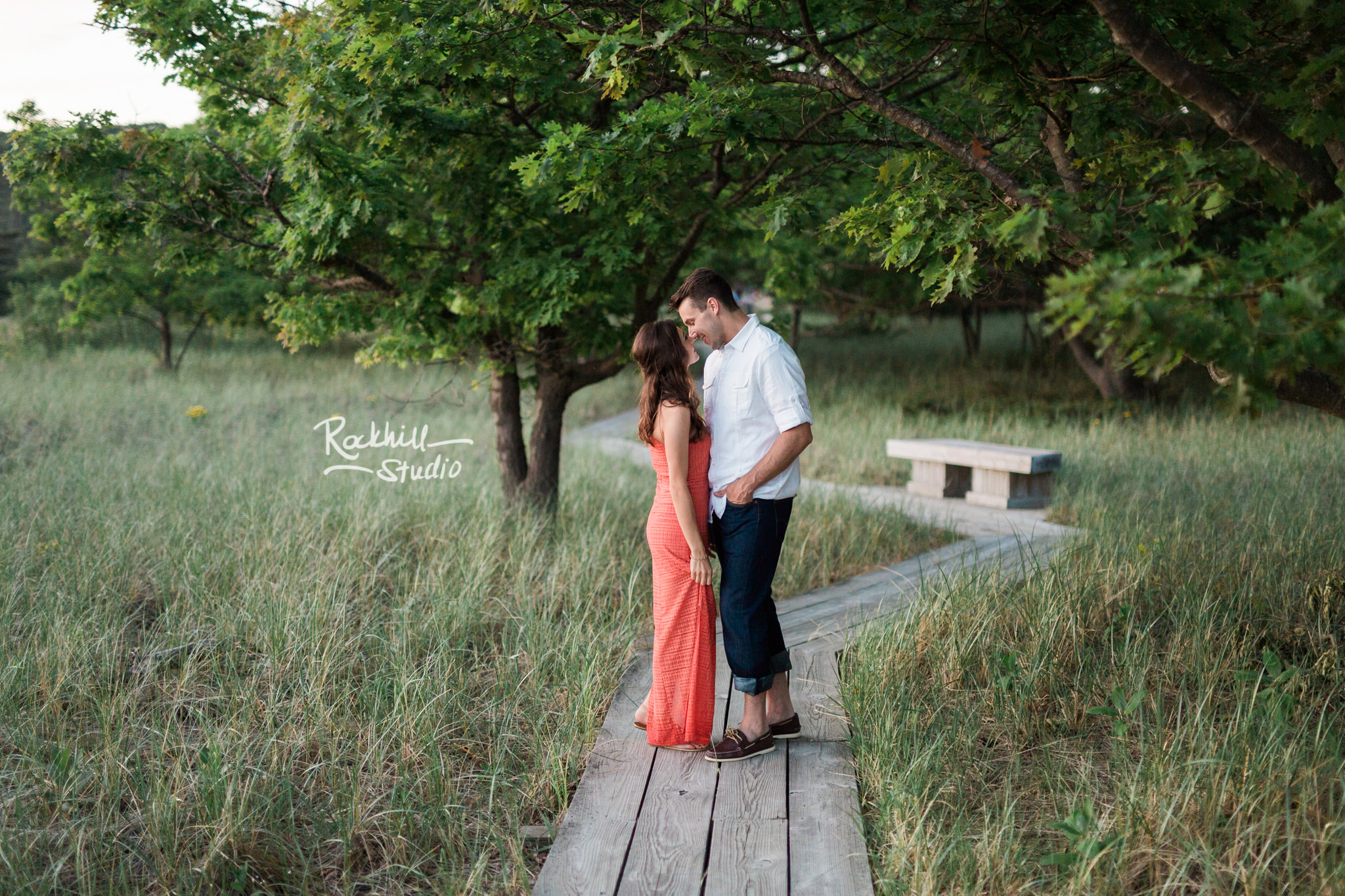 Traverse City Wedding Photographer Beach and dunes Engagement Grand Rapids