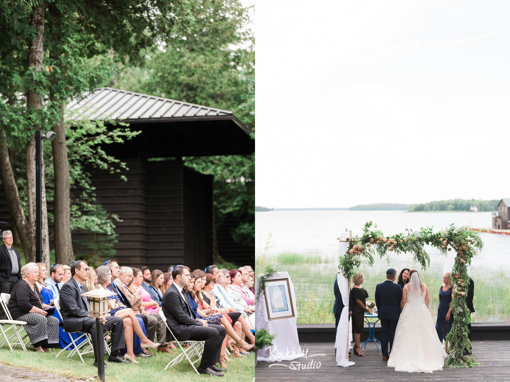 Drummond Island Wedding, Jewish Ceremony, Traverse City Wedding Photographer Rockhill Studio