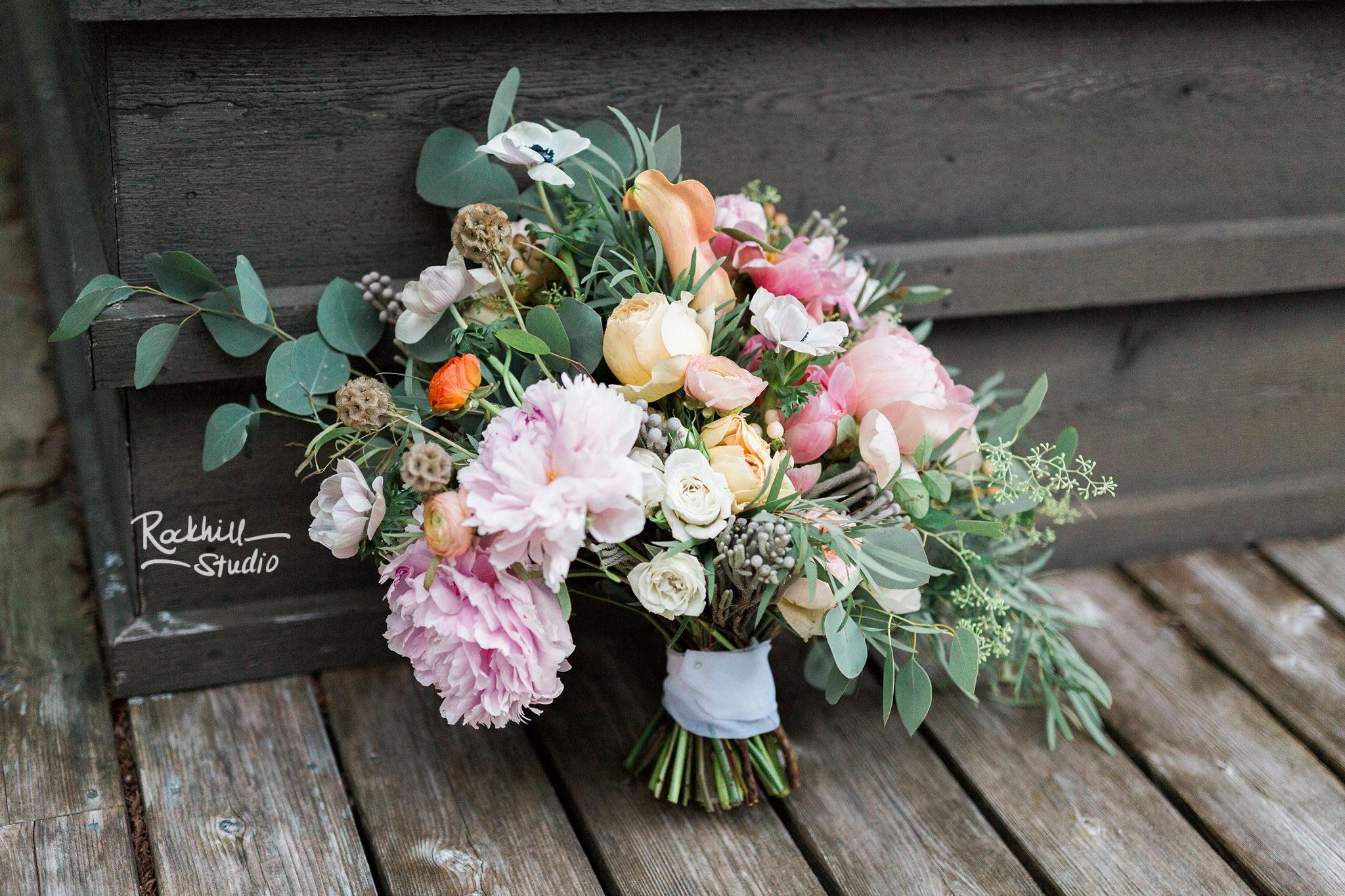 Drummond Island Wedding, Bride bouquet, Traverse City Wedding Photographer Rockhill Studio