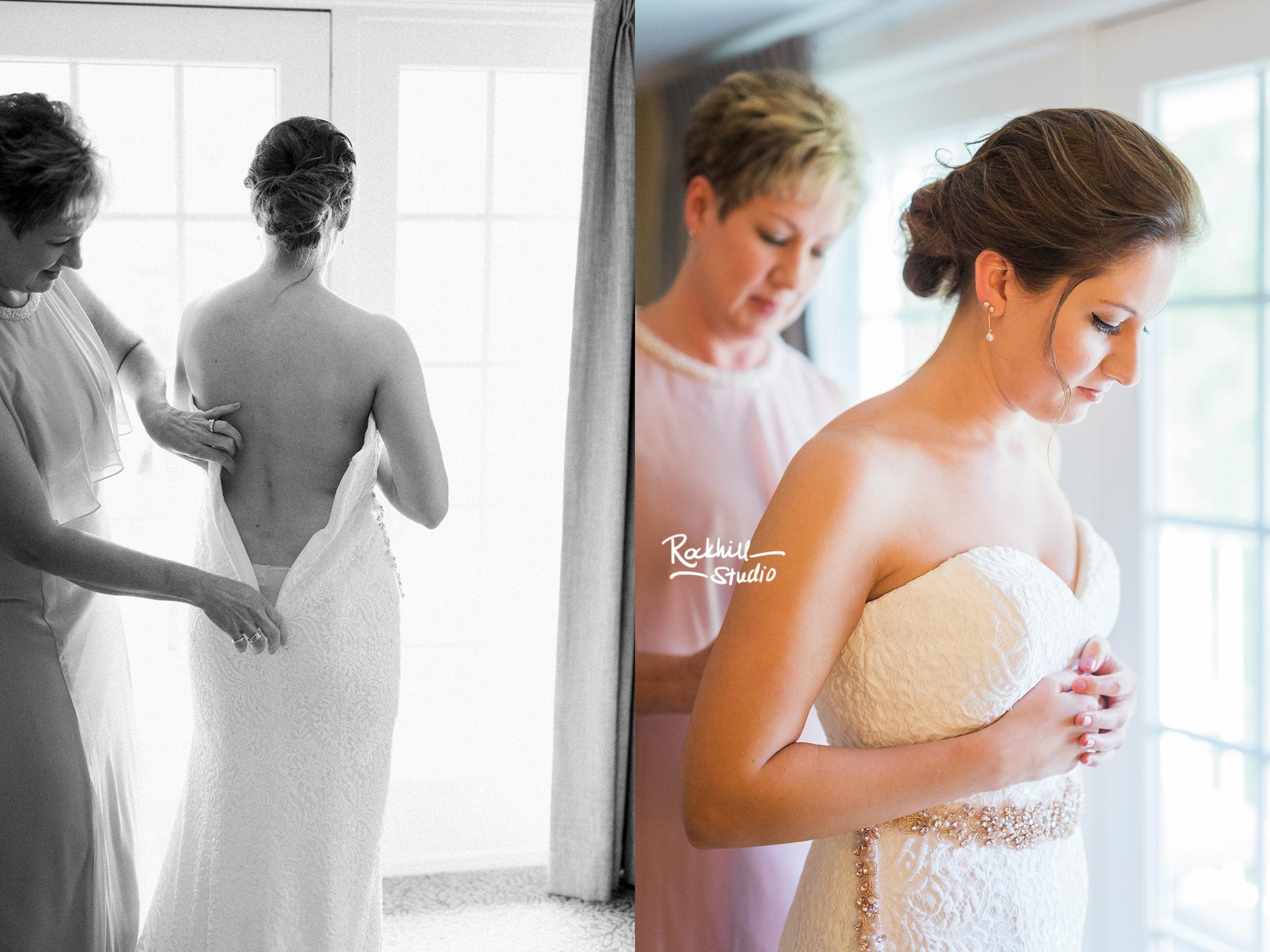 Mackinac Island Wedding, Traverse City wedding photographer Rockhill Studio, Inn at Stonecliffe, getting ready