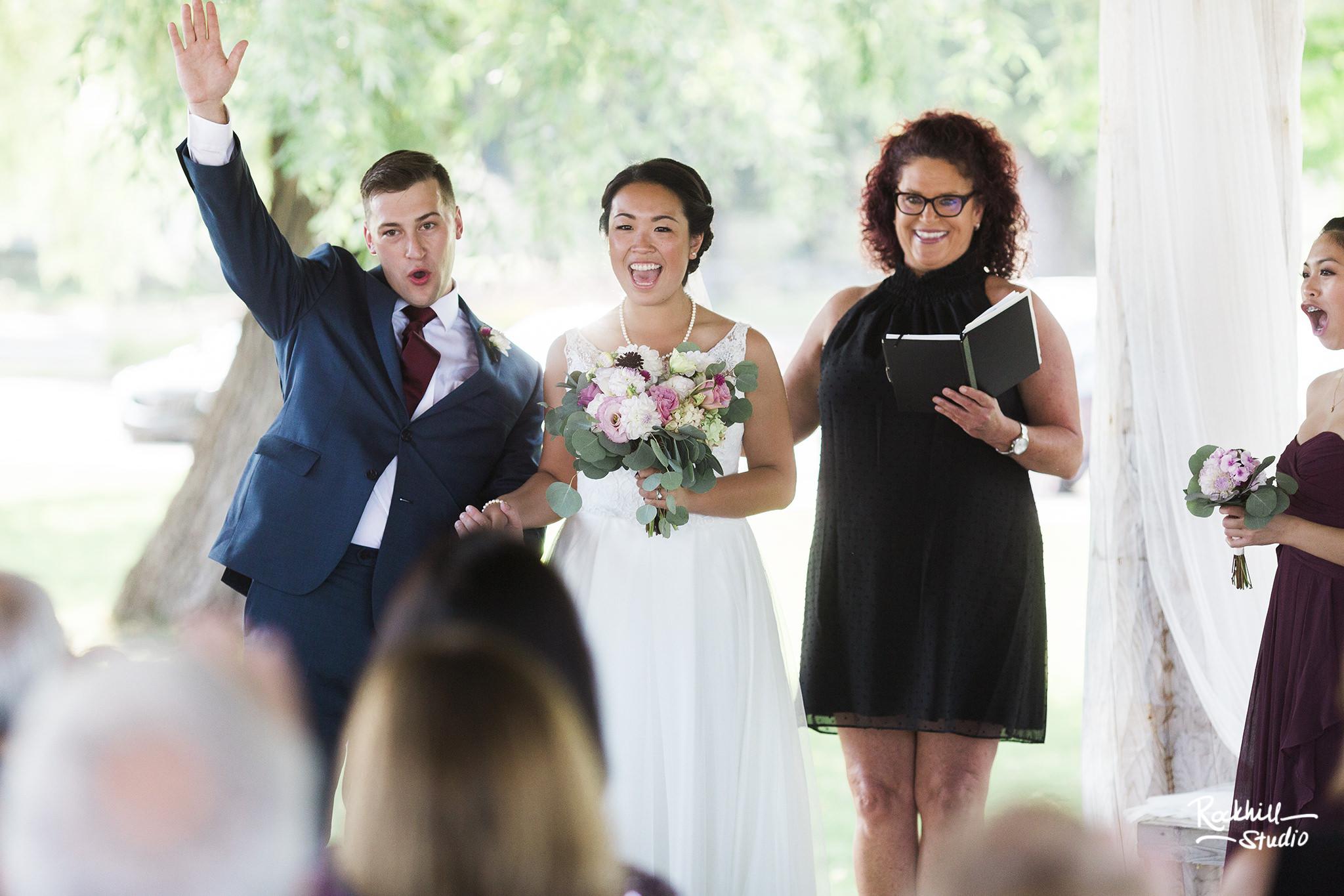Northport wedding ceremony, traverse city wedding photographer rockhill studio
