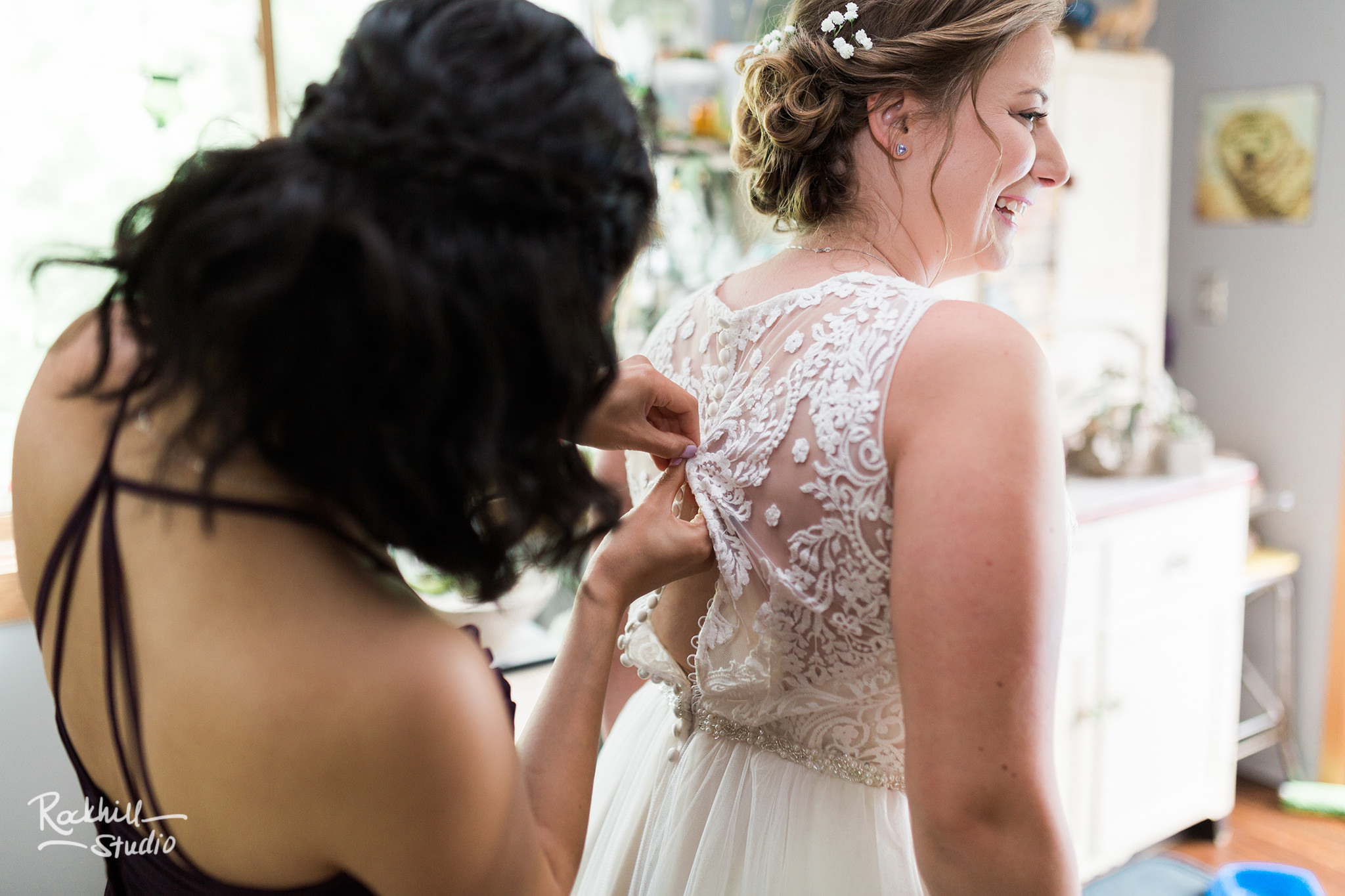 bride getting ready details, Traverse City wedding photographer Rockhill Studio