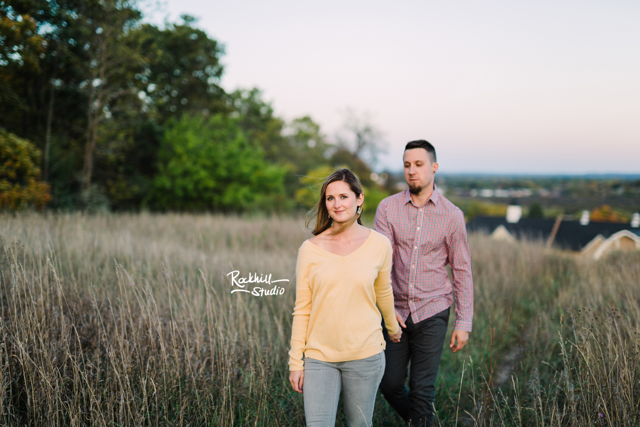 Traverse City Engagement and wedding photography, Cathedral Barn Park, Rockhill Studio