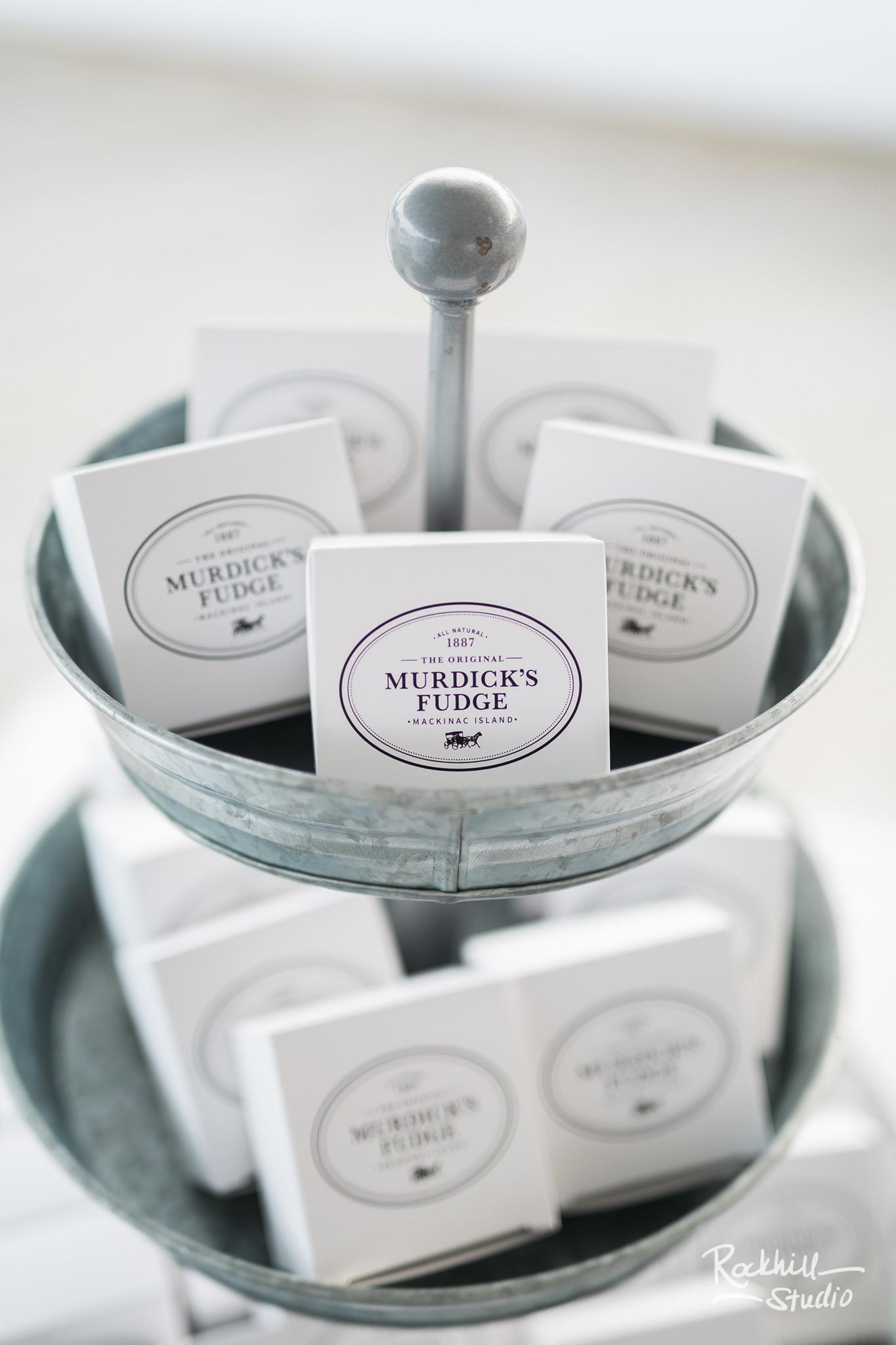 Mission Point Wedding, Murdick's fudge, Traverse City Wedding Photographer Rockhill Studio