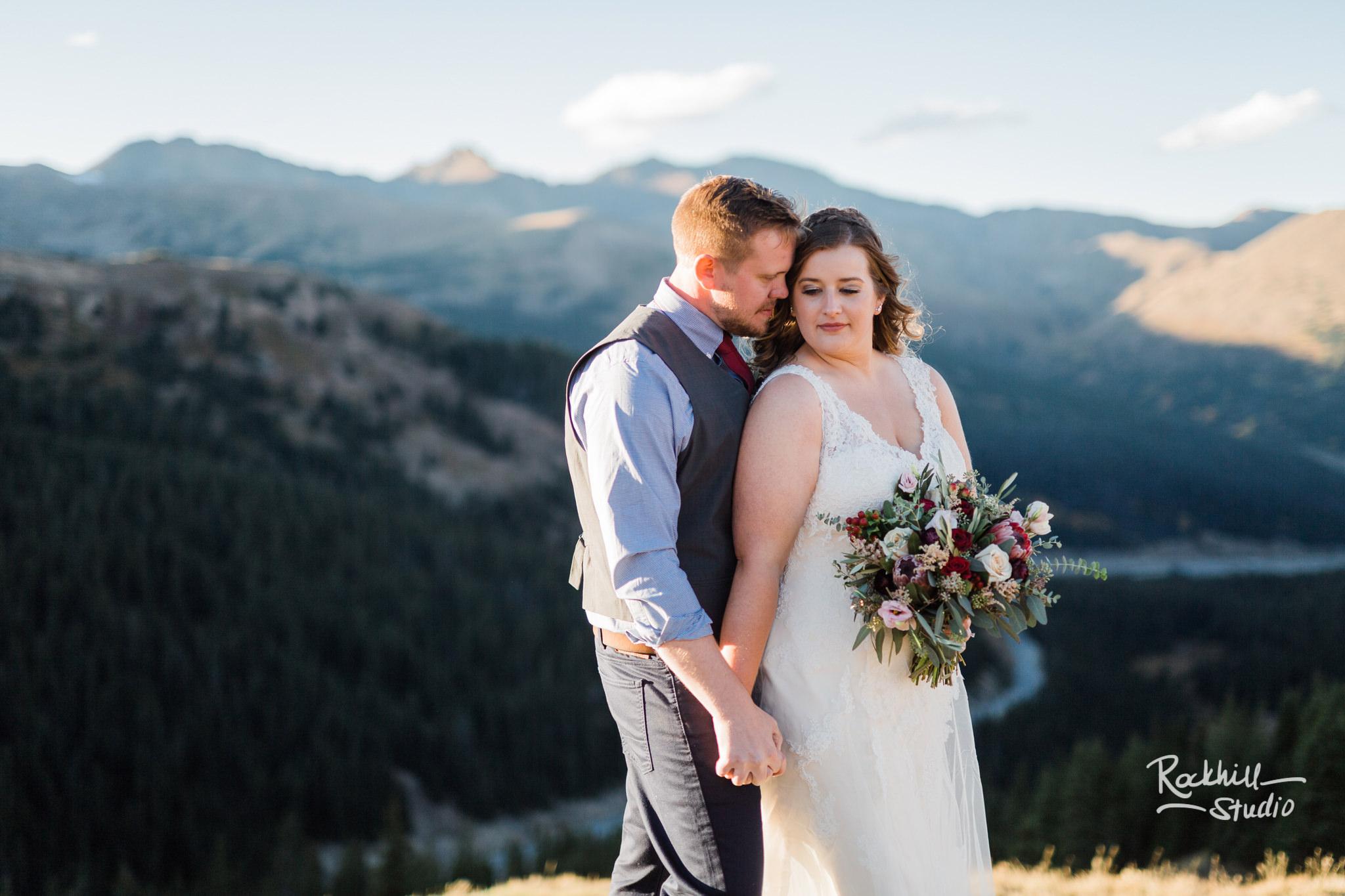 Destination wedding photographer Rockhill Studio, Loveland Pass, Traverse City to Breckenridge, Colorado
