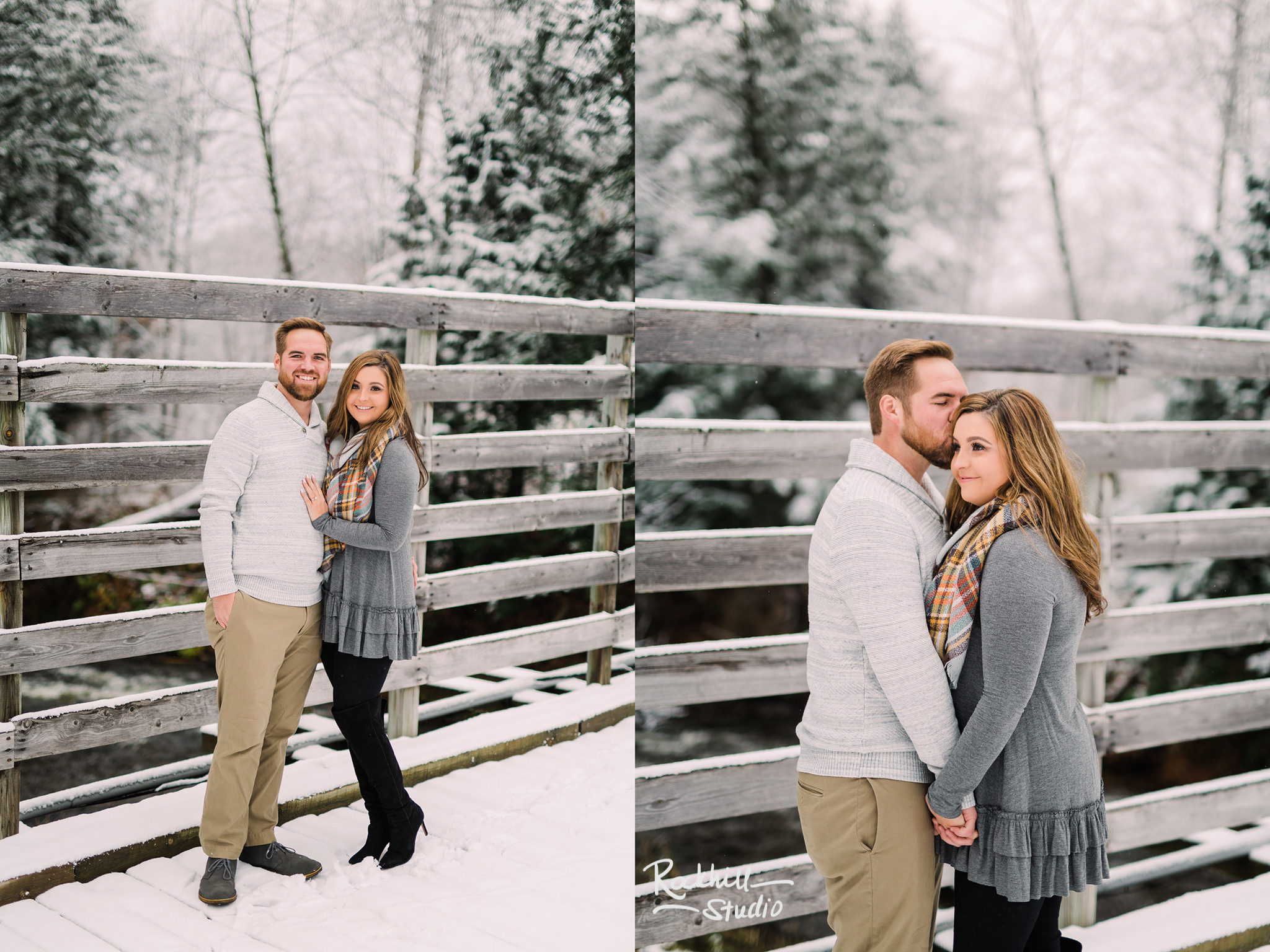 Northern Michigan Engagement photographer, couple in the woods, traverse city