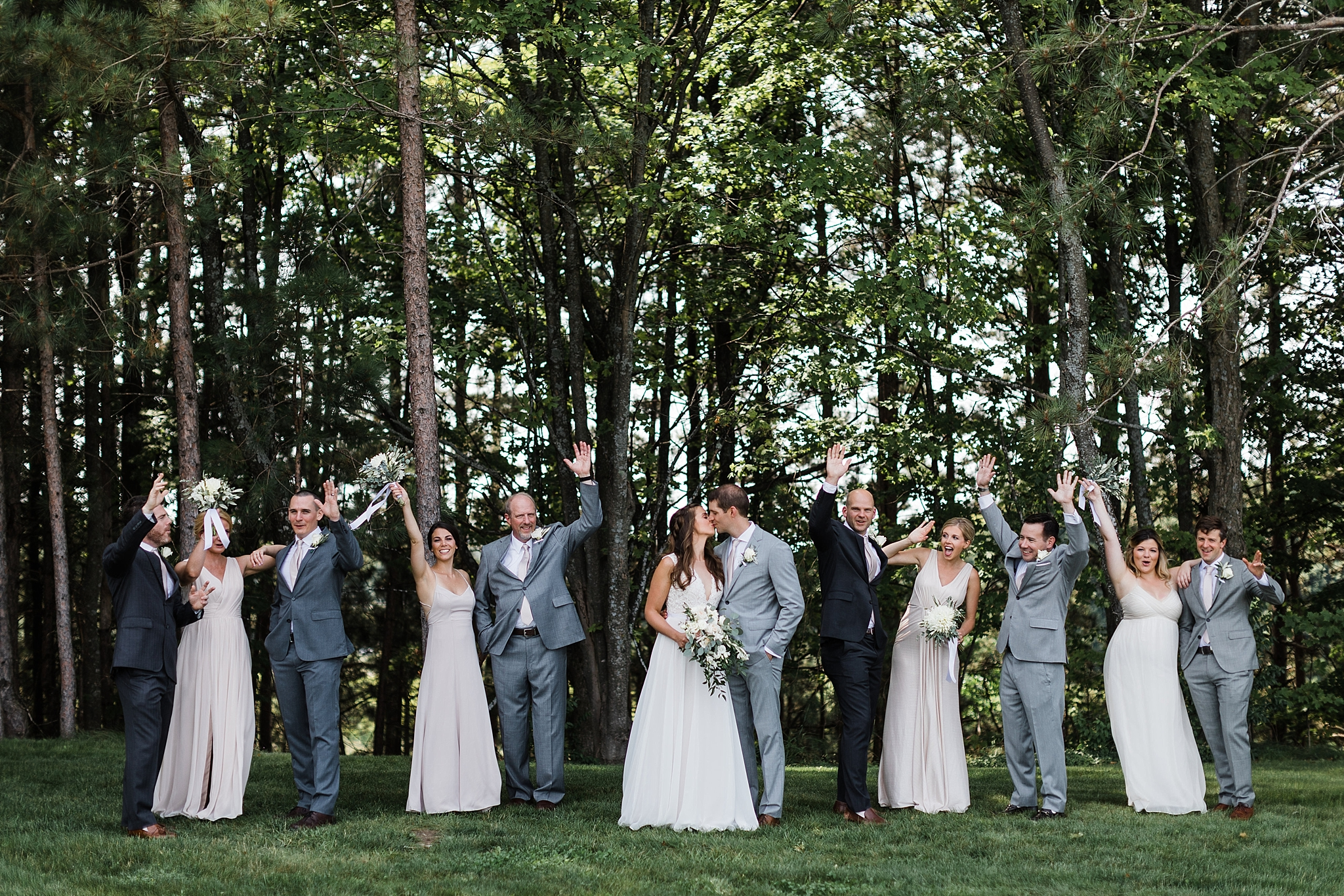 Verterra Vineyards Wedding, Traverse City Michigan photographer Rockhill Studio