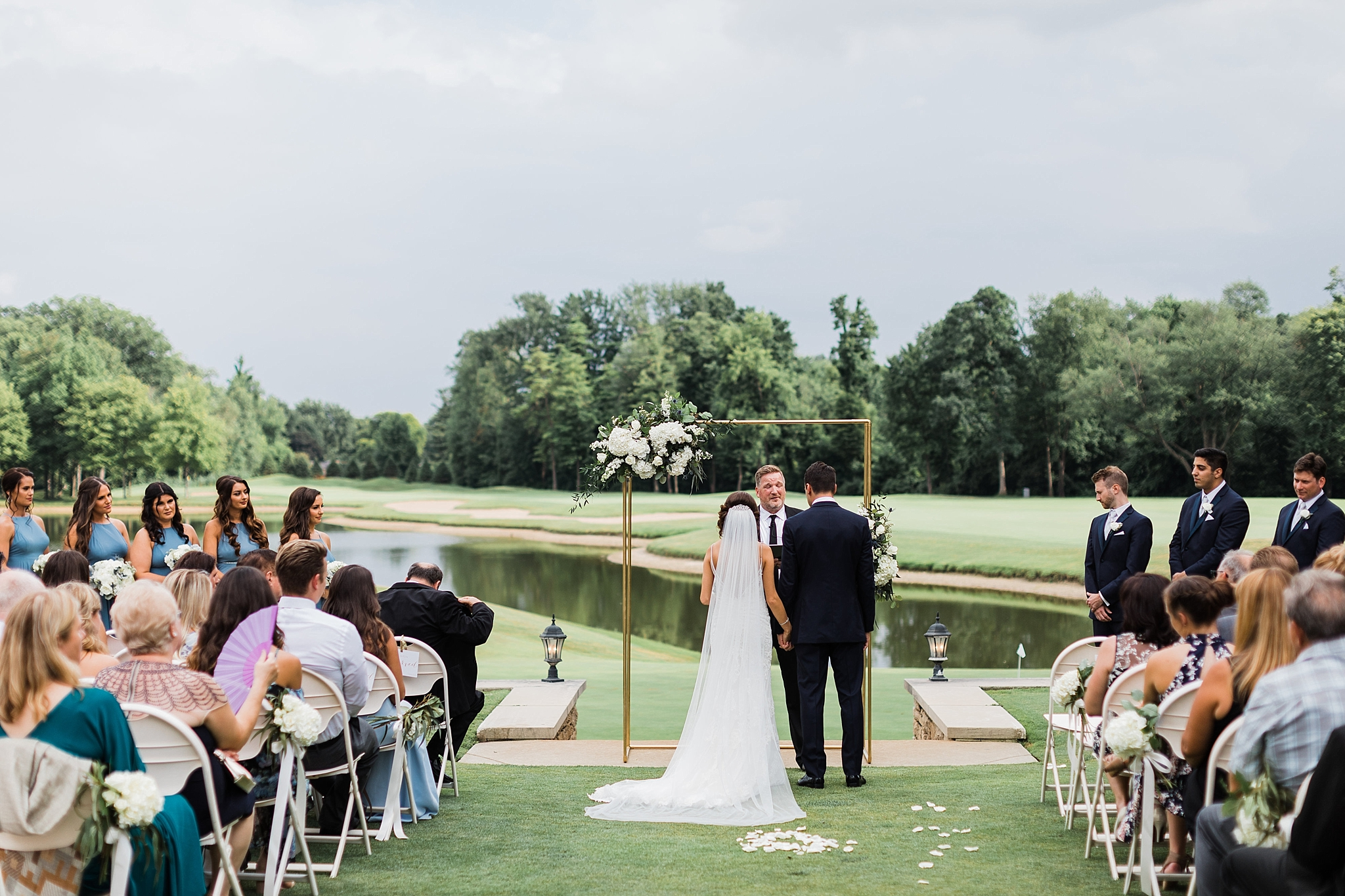 wedding ceremony, traverse city wedding photography Rockhill Studio, northern michigan,