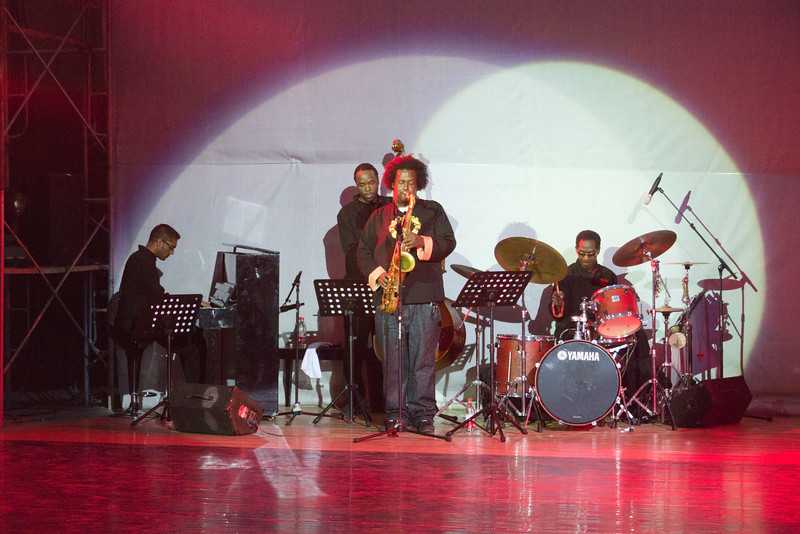 Marcus w/FJM live in China 2011