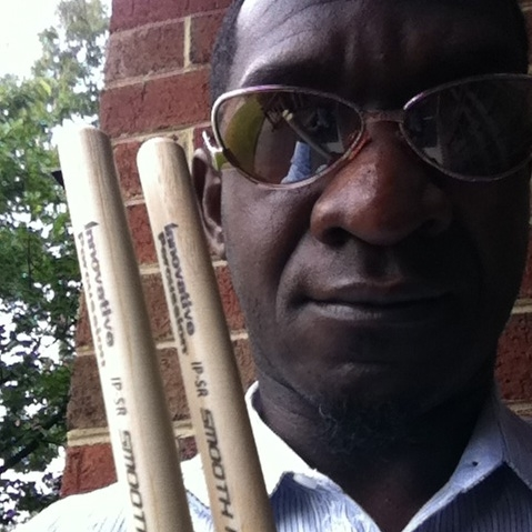 Marcus endorses Innovative Percussion sticks.