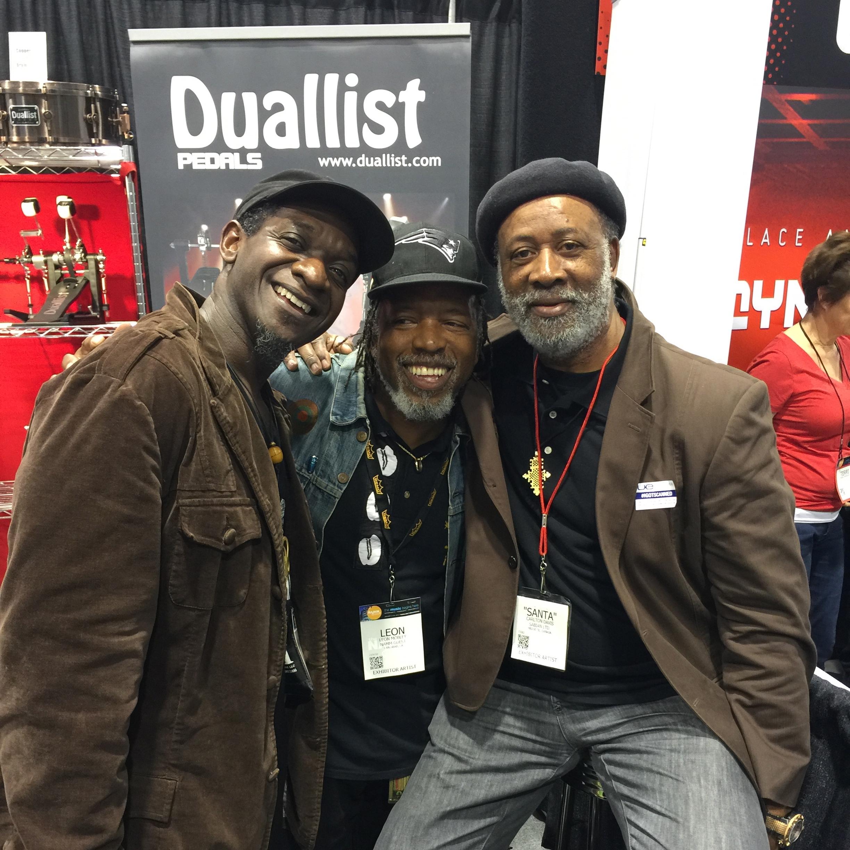 Marcus, Leon, & Santa Davis @ N.A.M.M.