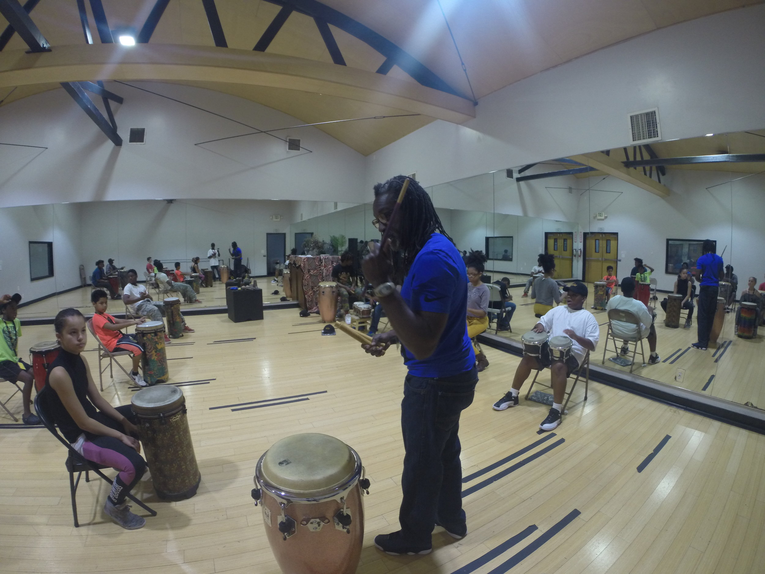 Day 4: Afro-Cuban Percussion