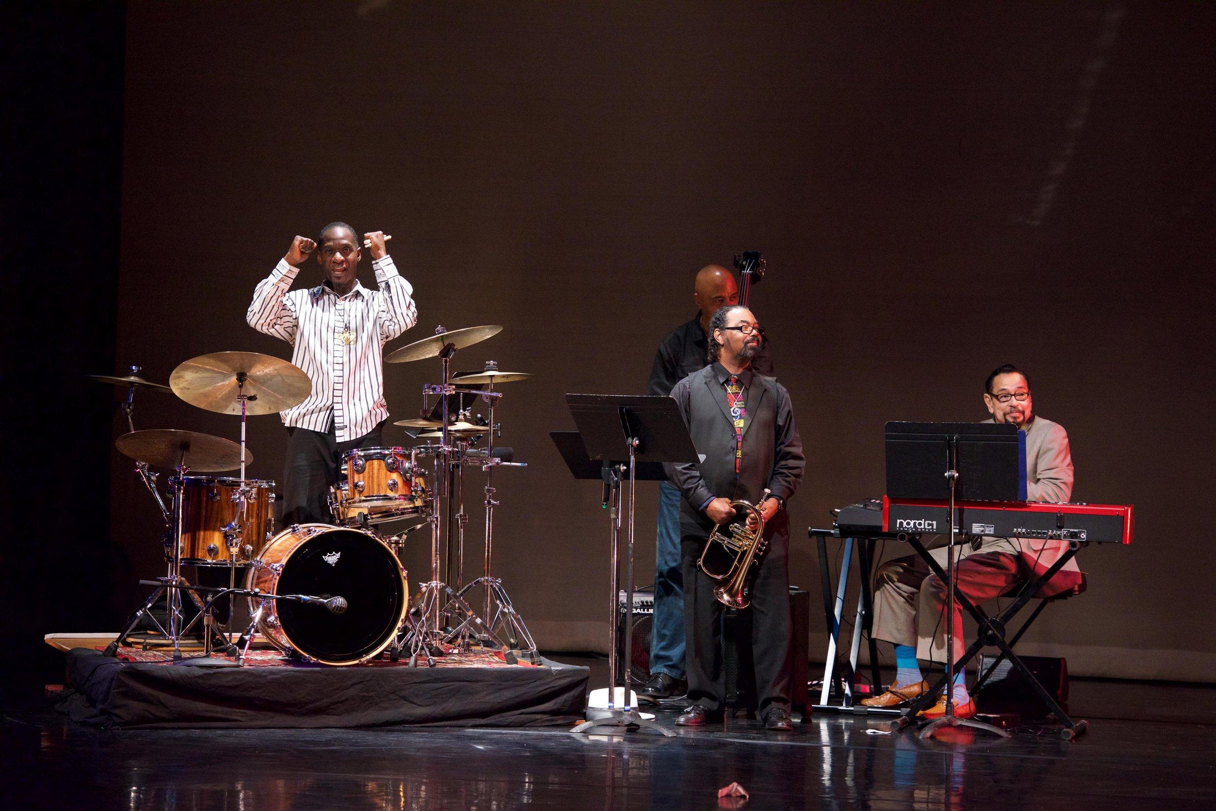 Marcus Miller ensemble in Los Angeles