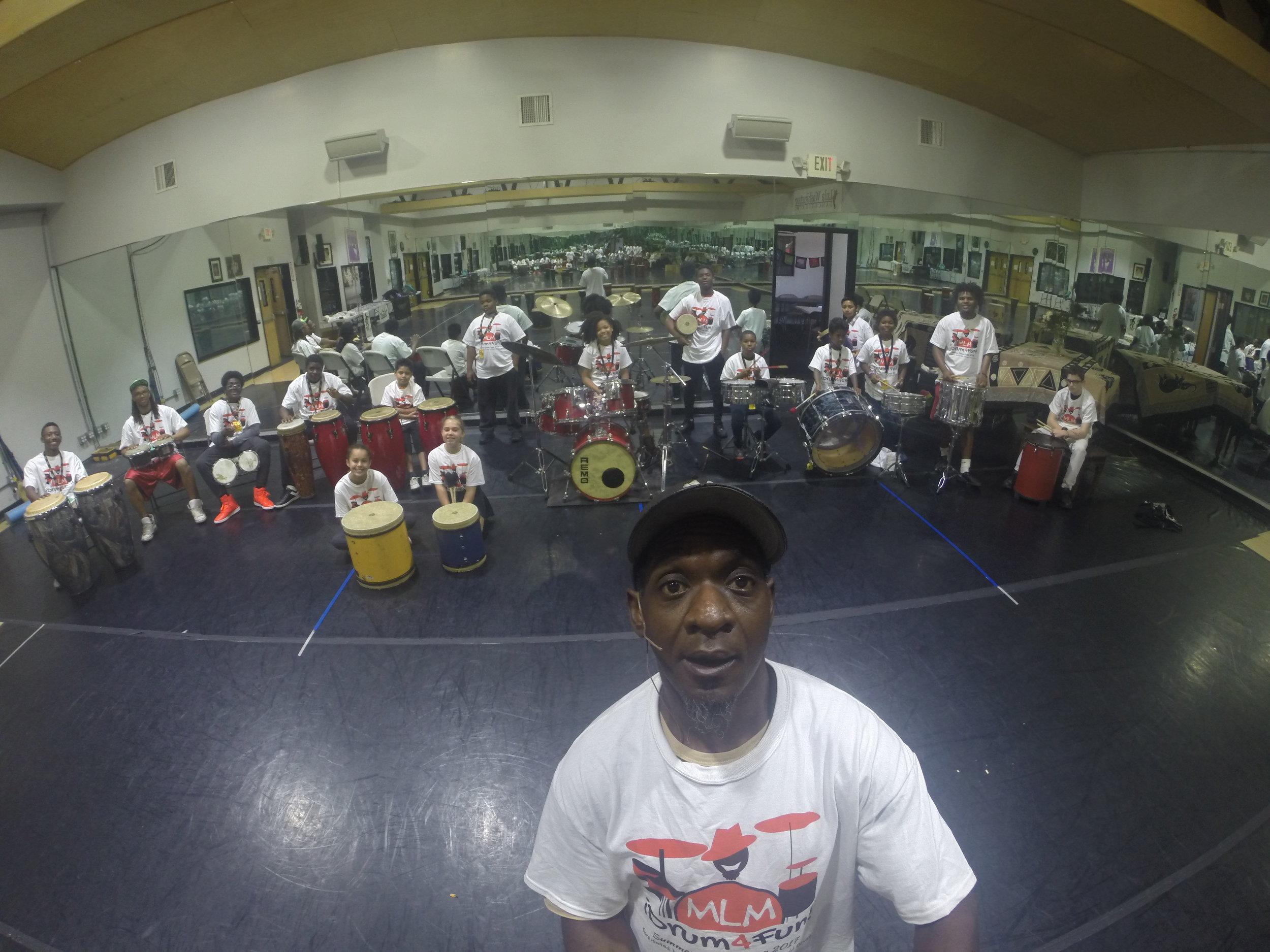 Summer Drum Camp 2017