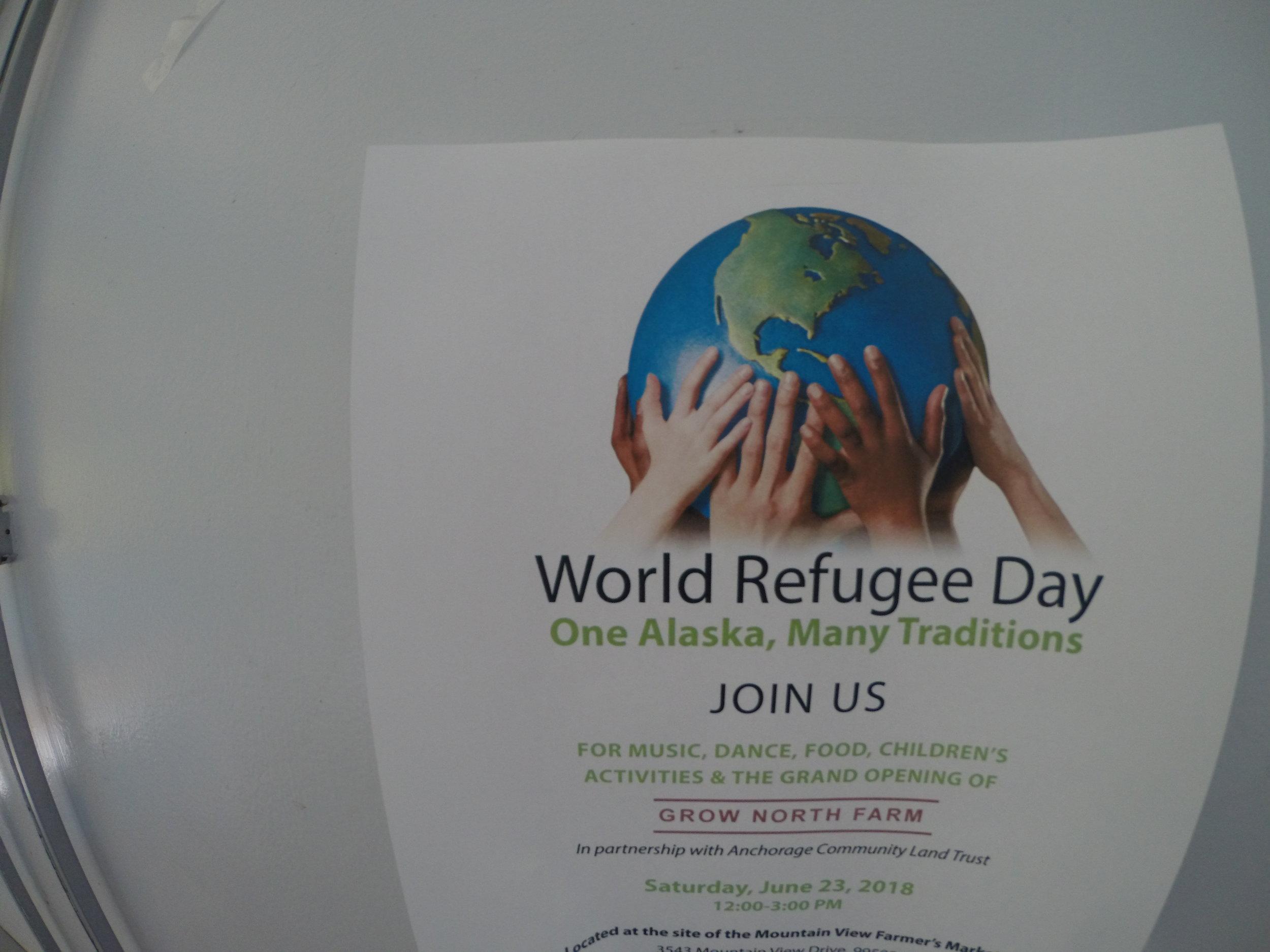 World Refugee Day event