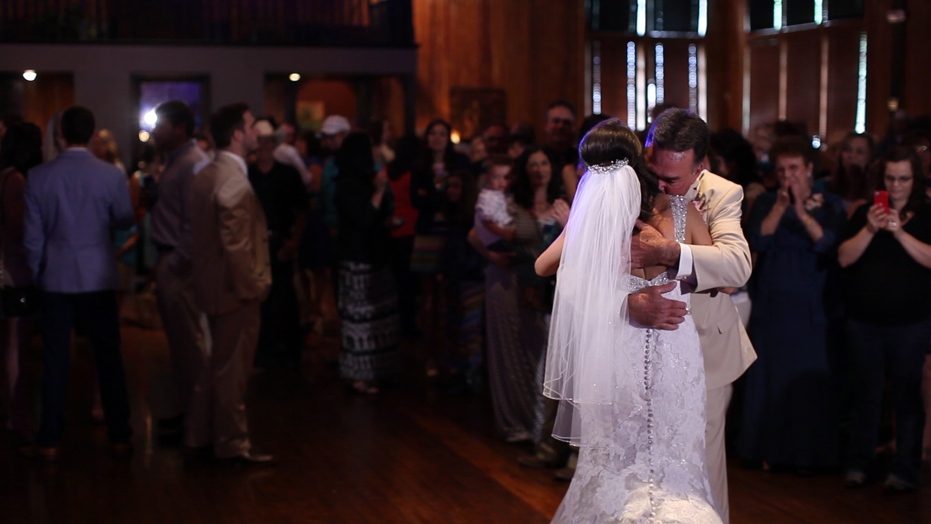 Emotional father daughter dances get us EVERY time.