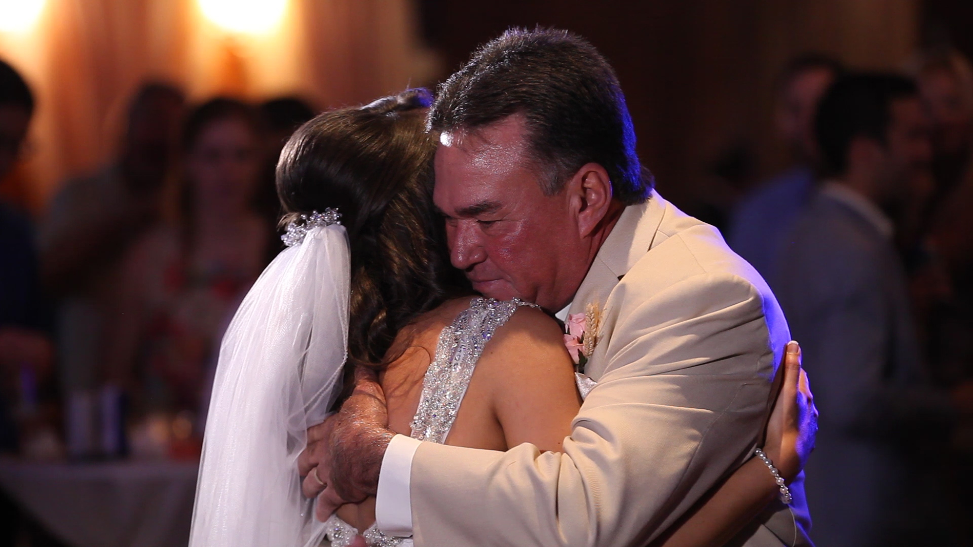 More sweet father daughter love.
