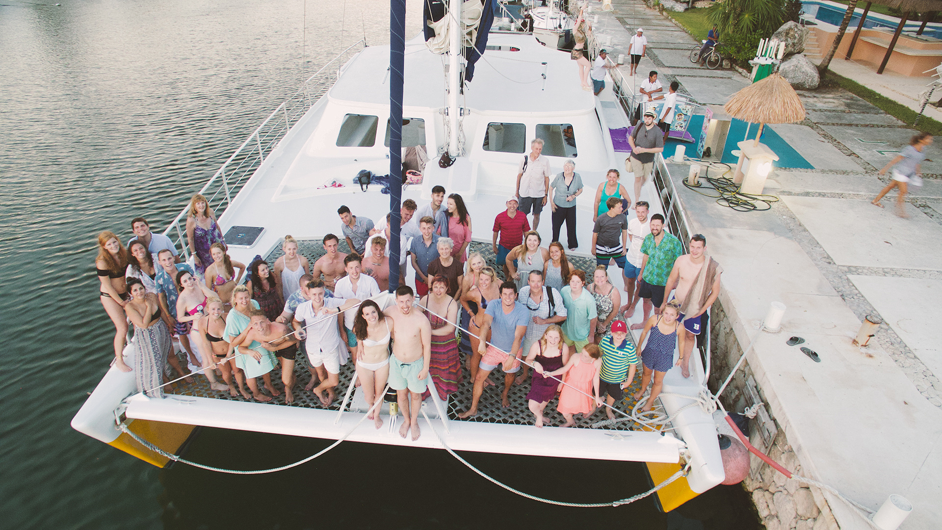 We took a group shot once we returned to the harbor...SO much fun!