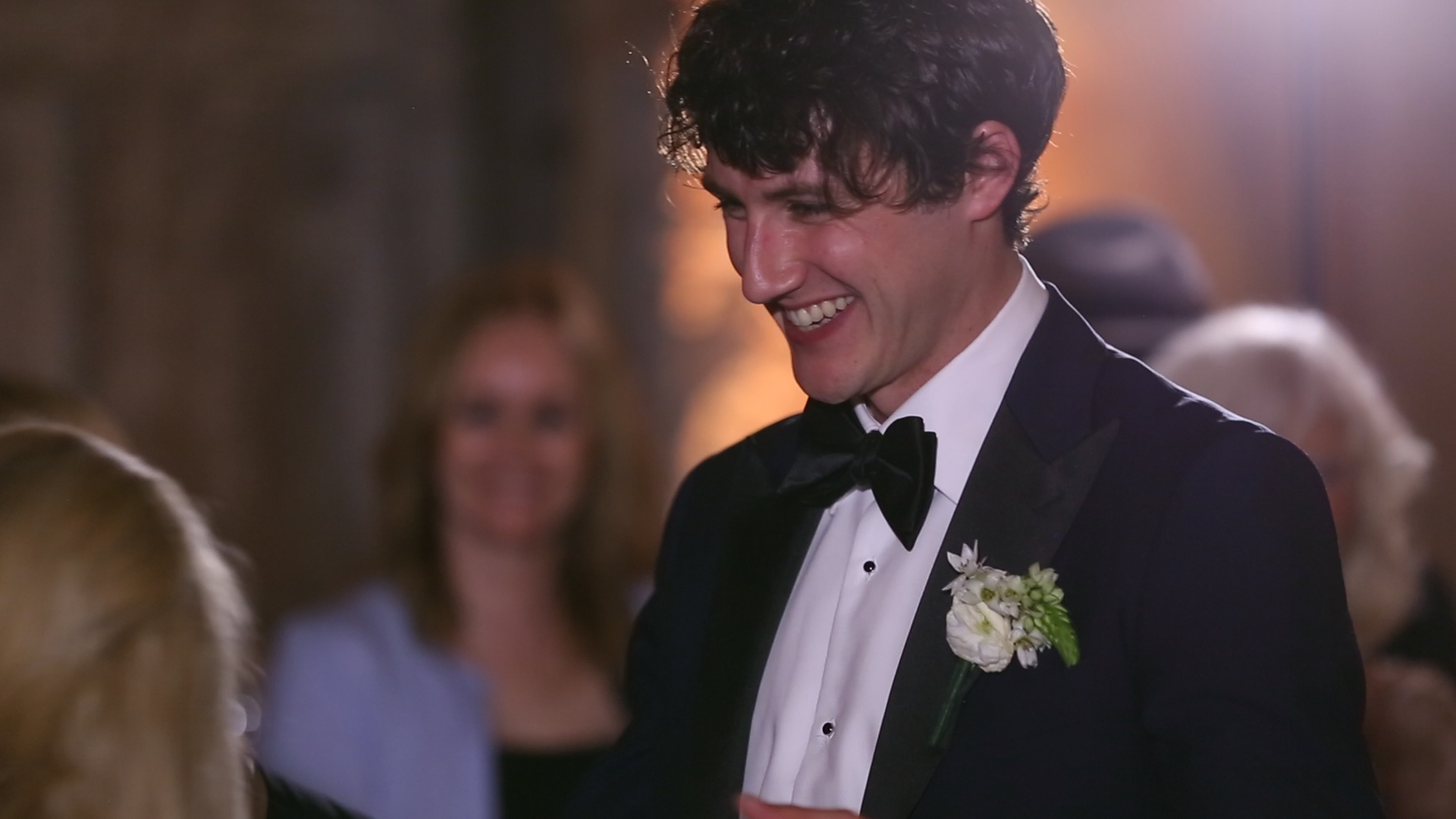 """Tanya and Conor danced to the first song they ever danced to while dating... """"Let's Get it On."""" Hehehe...fun first dance!"""
