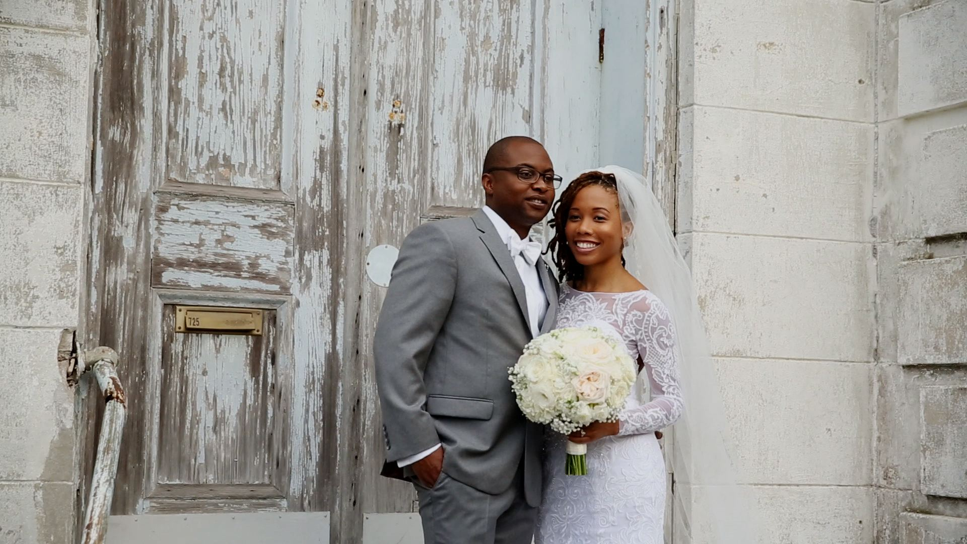 Beautiful old New Orleans doors make for great backdrops.