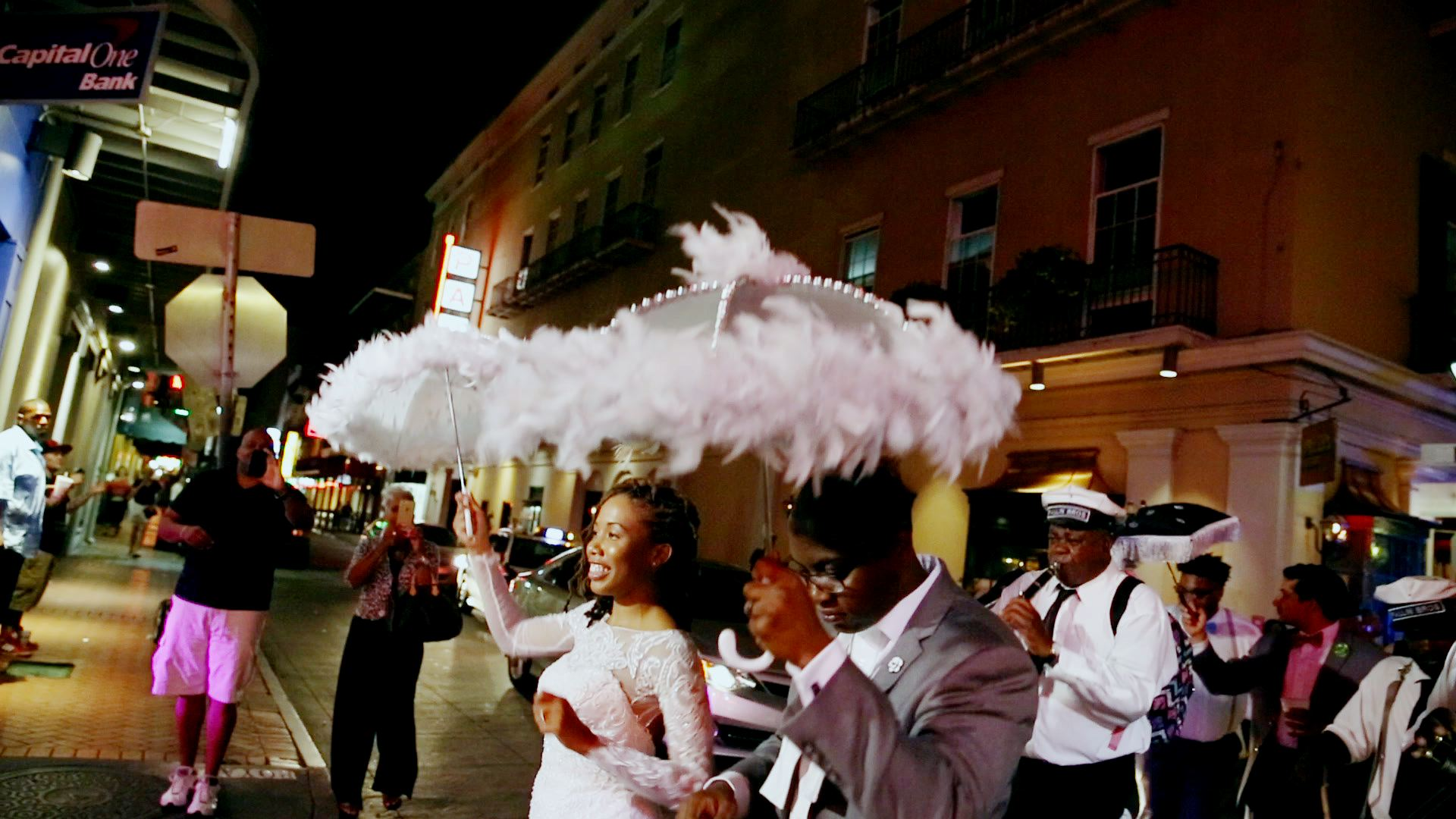Nothing like a second line to cap off the night.