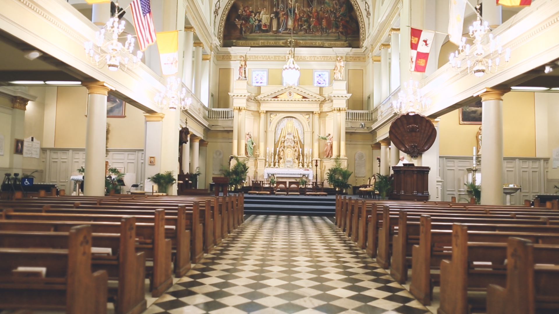 St. Louis Cathedral - Bride Film