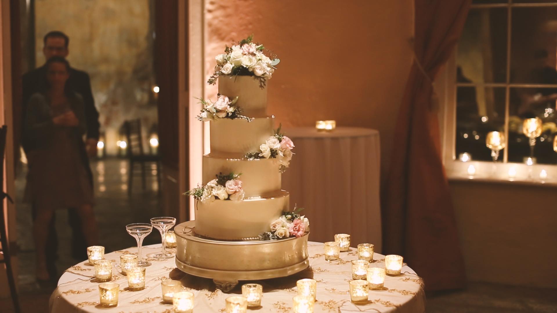 Melissa's Fine Pastries did a phenomenal job on their cake.