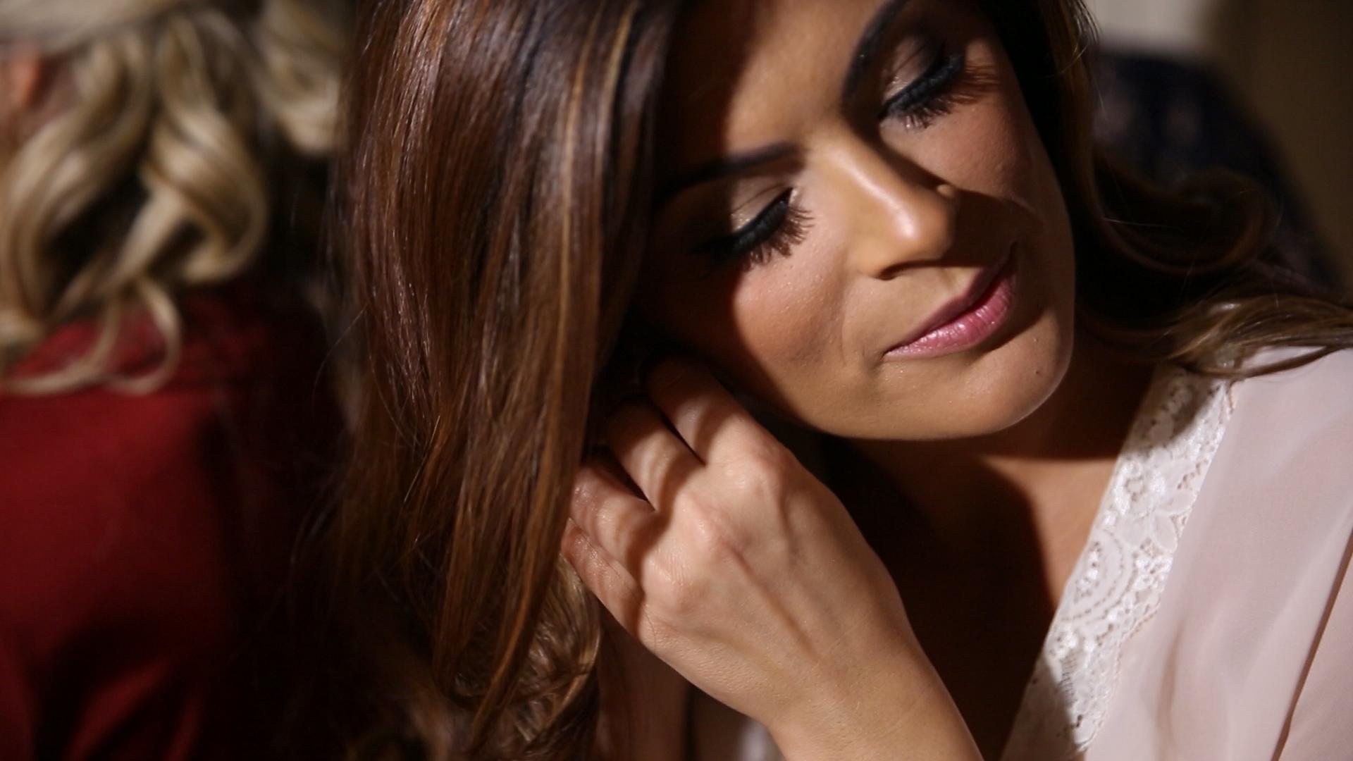 Earrings - Bride Film