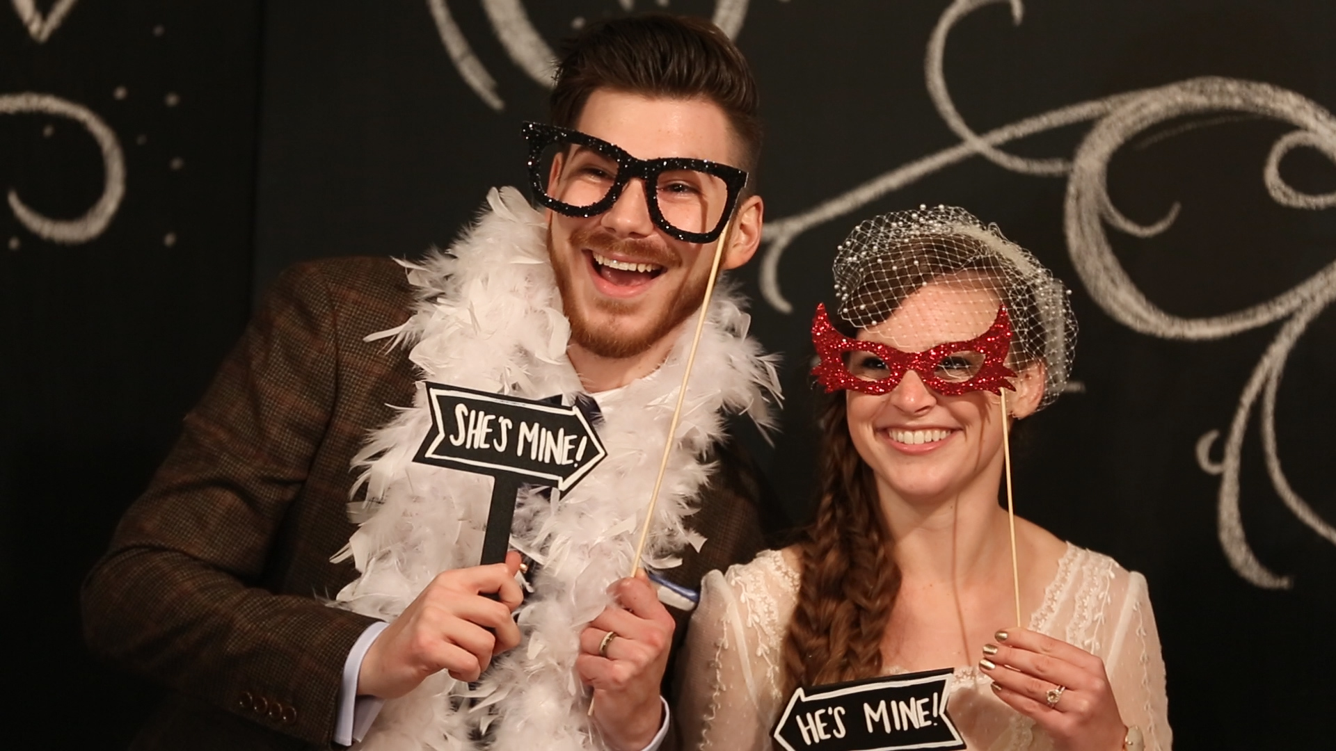 All the guests had a blast in the photobooth!