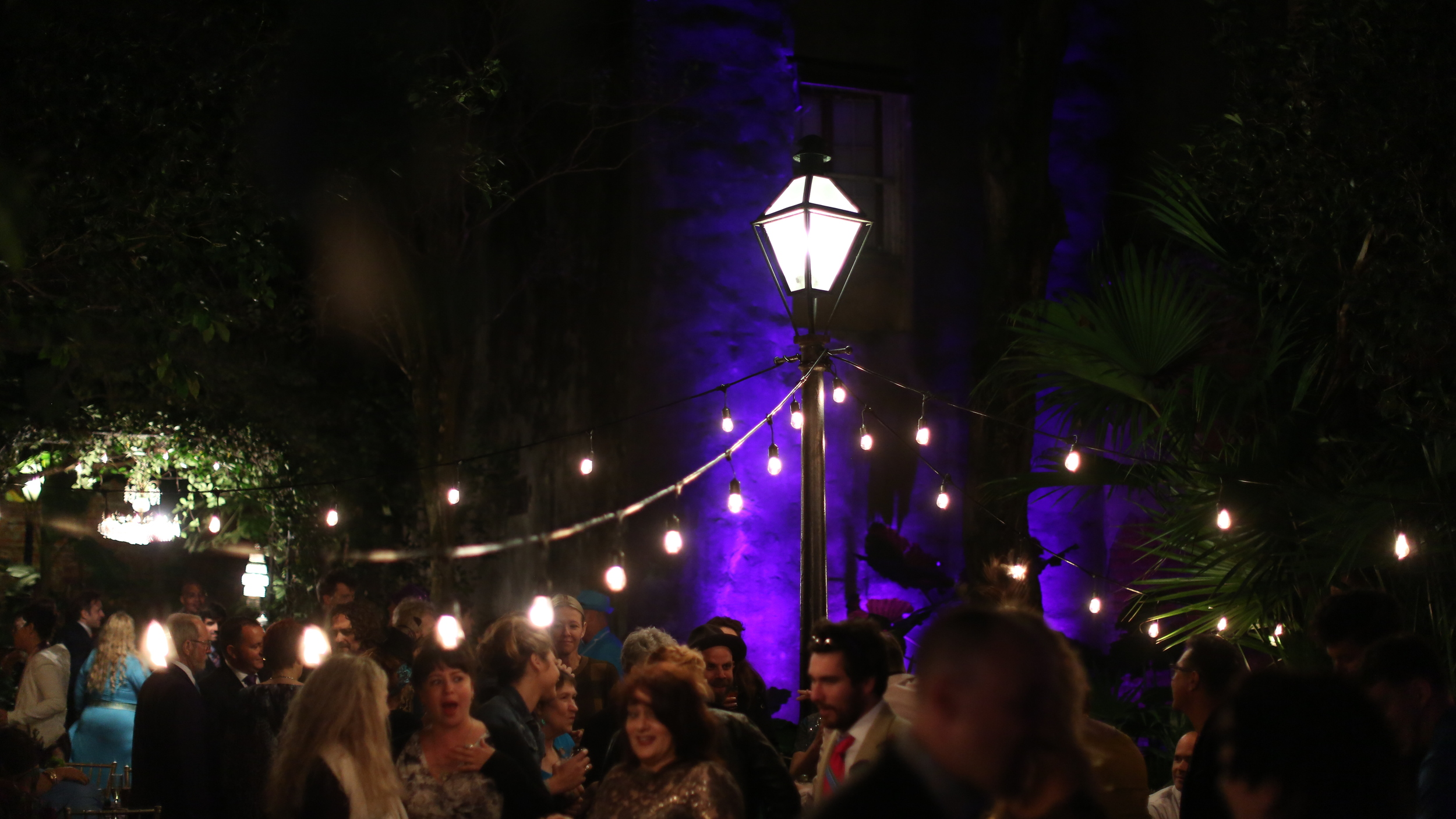 The New Orleans Pharmacy Museum had the cutest courtyard for their ceremony and reception.