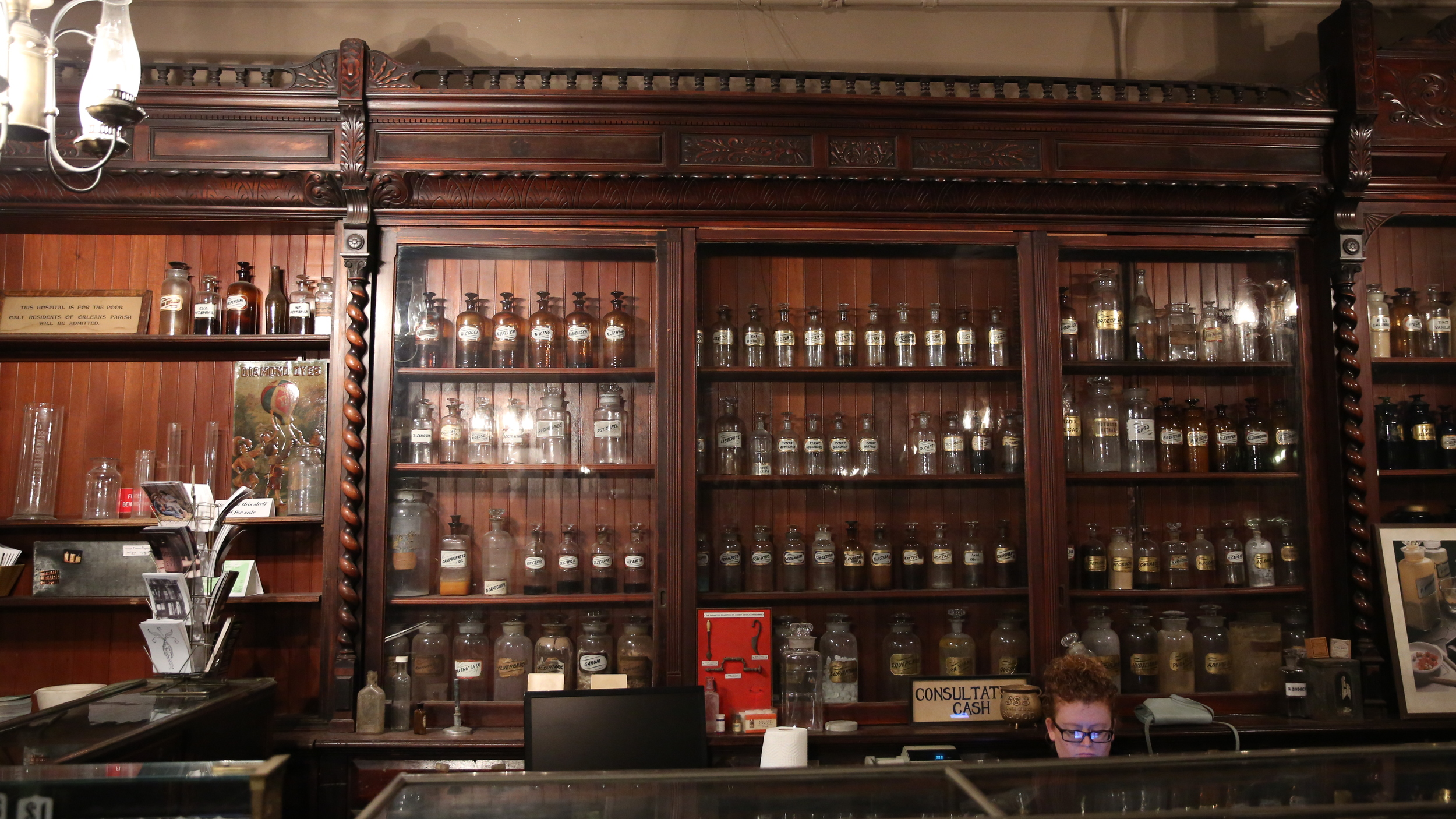We love the unique atmosphere of the Pharmacy Museum.