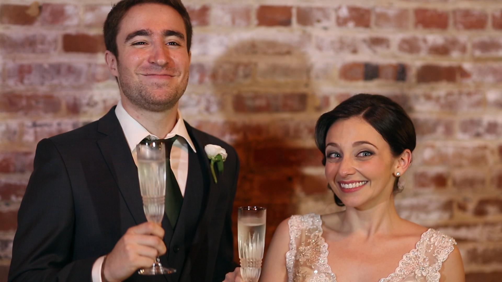Happy happy wedding!