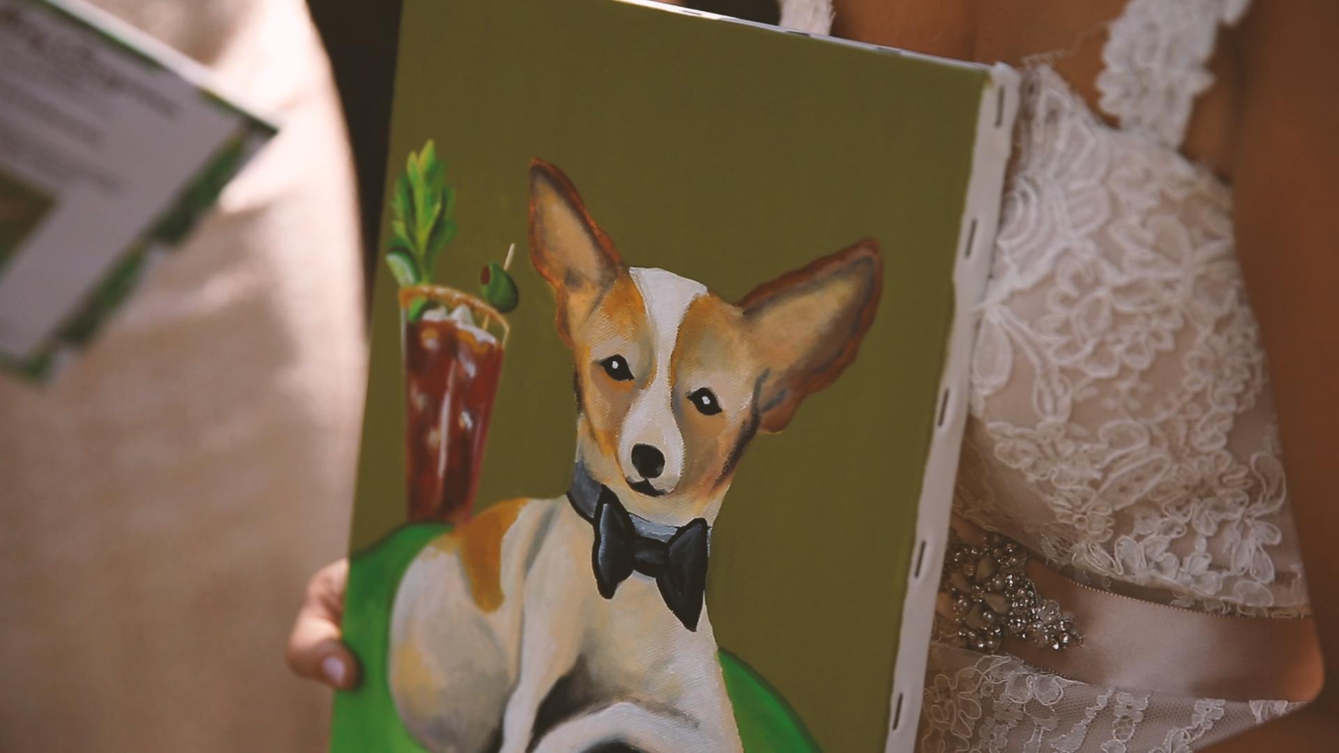 Original Painting - Bride Film