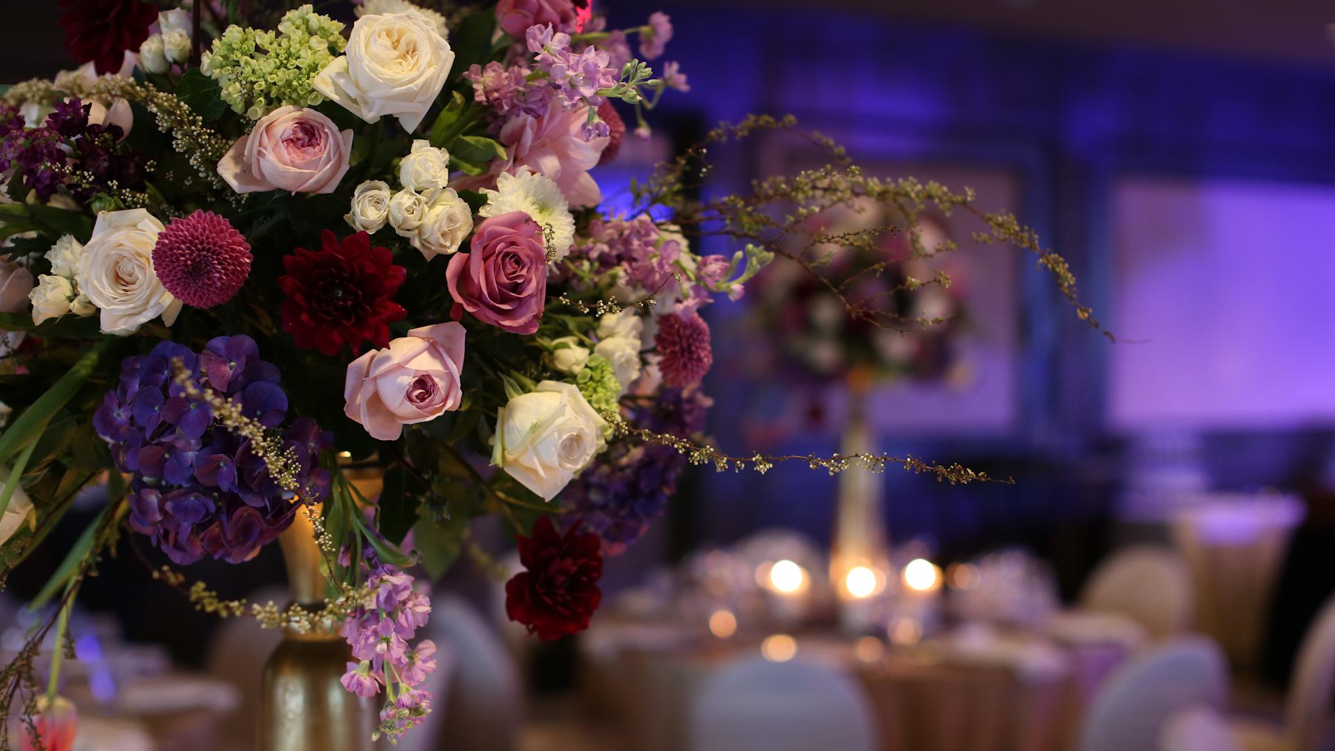 Dramatic Florals - Bride Film