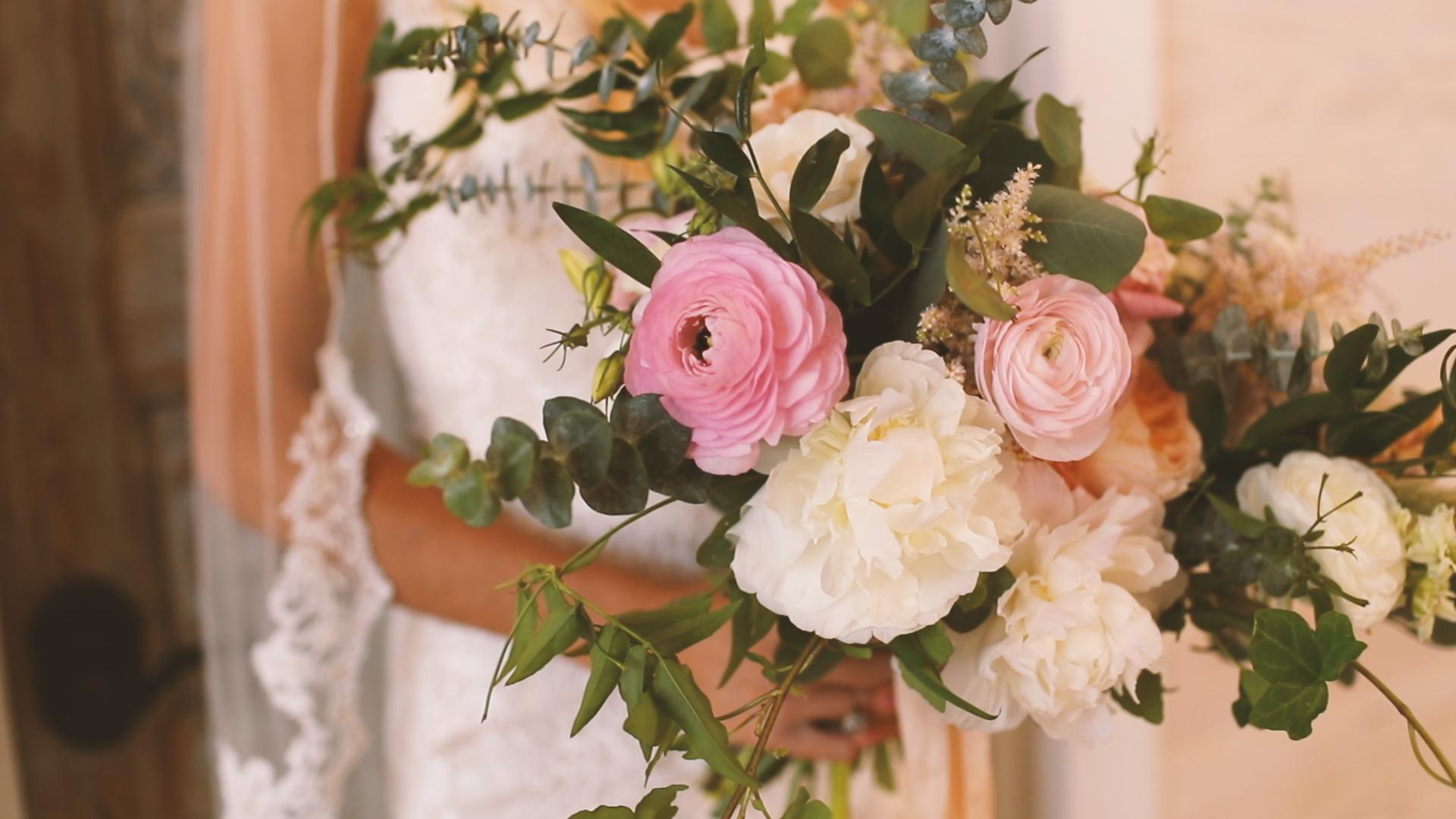 Vintage Wedding Flowers - Bride Film