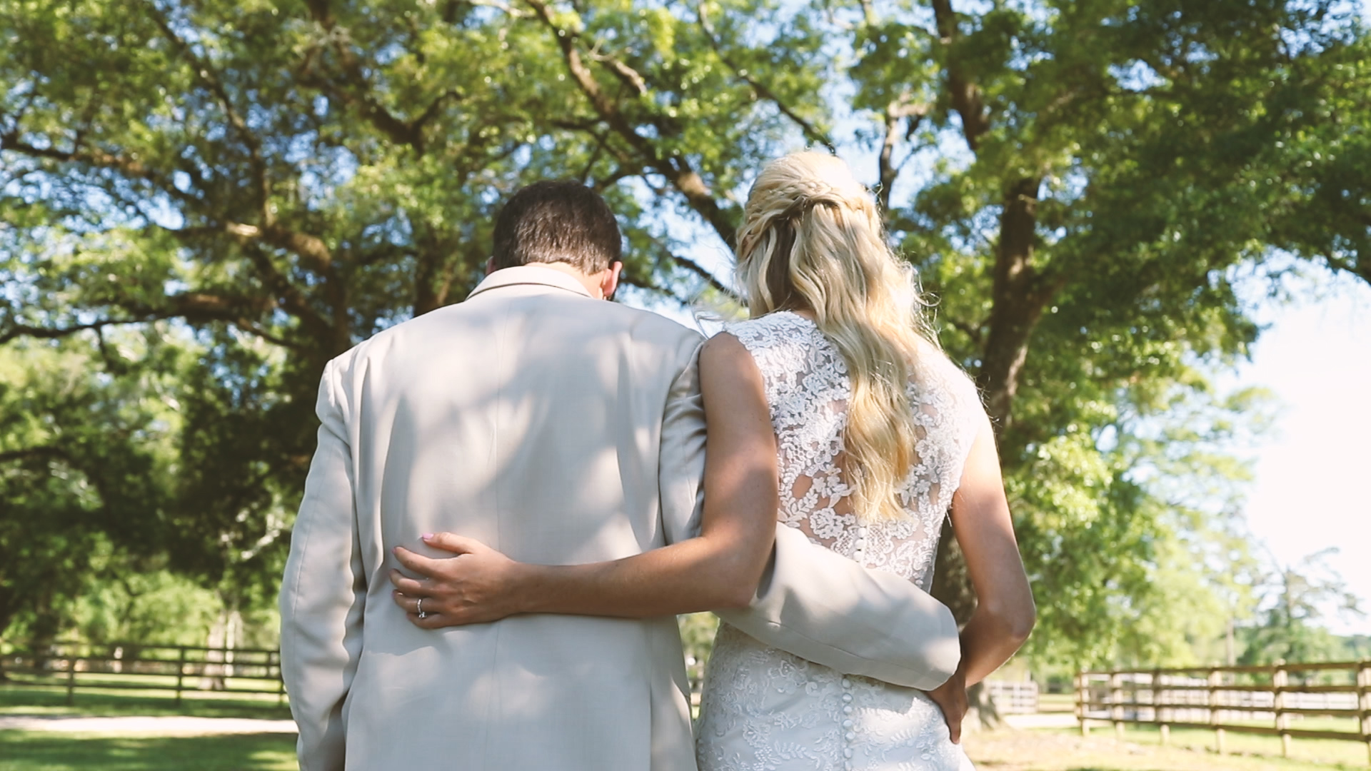 Wedding First Look - Bride Film