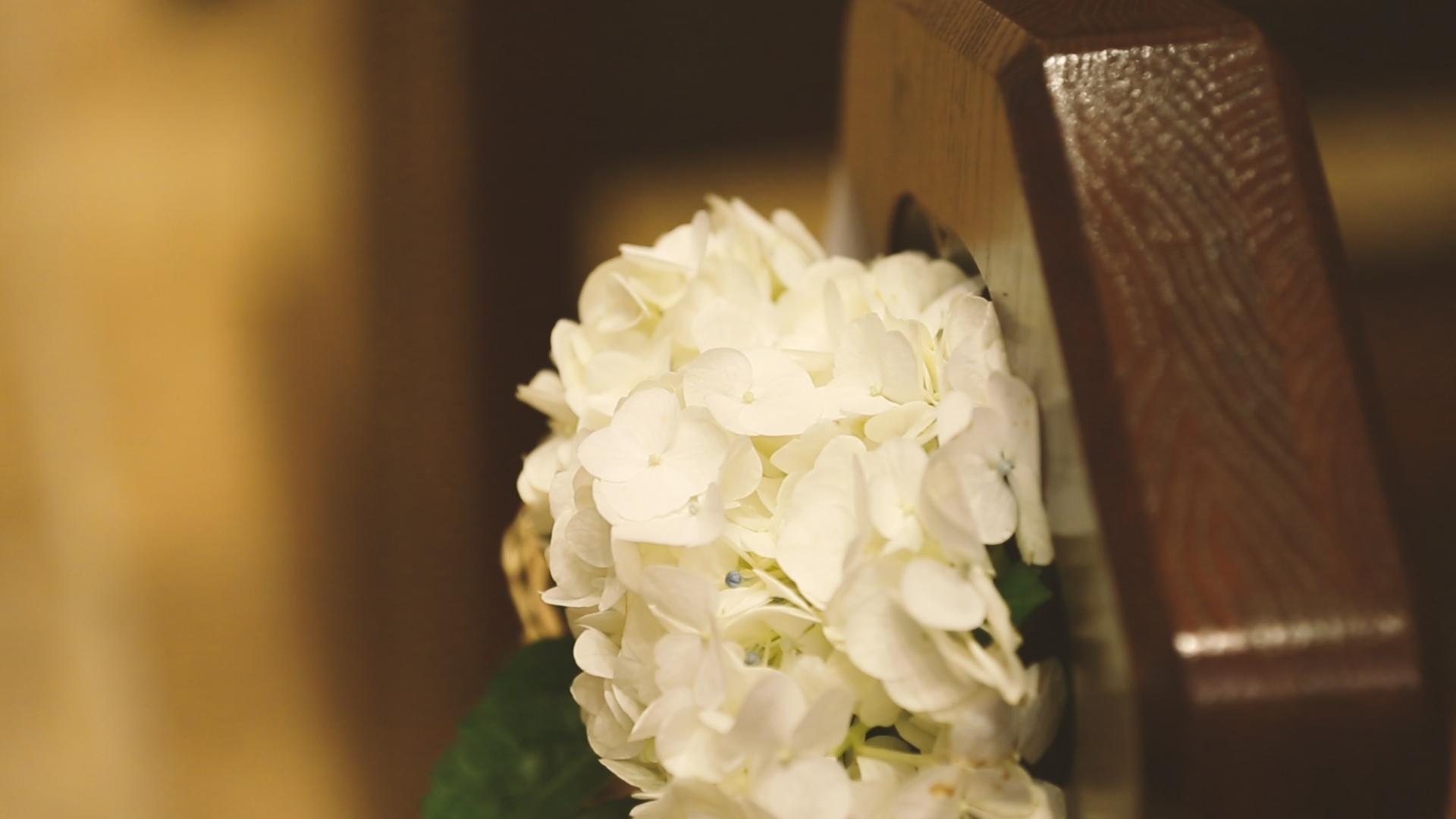 Wedding Flowers - Bride Film