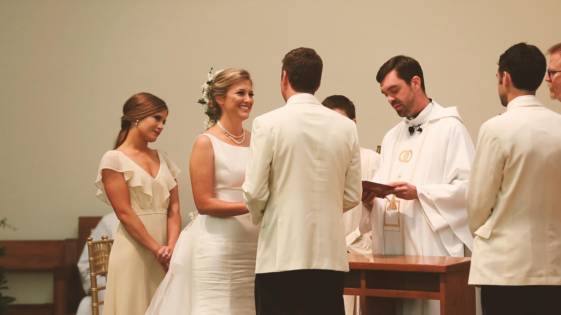 Bride Vows in Church - Bride Film