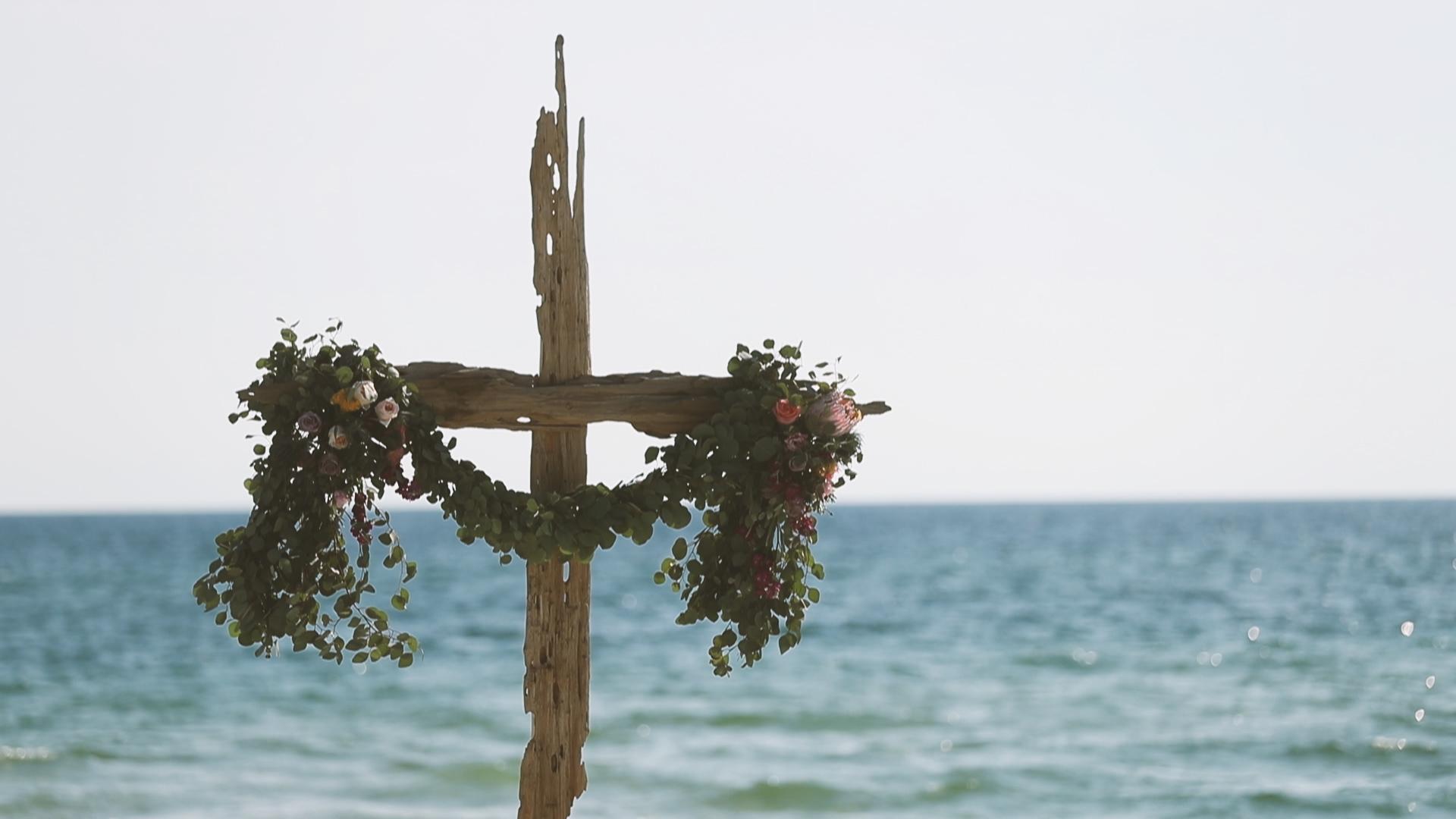 Rosemary Beach Ceremony Decor - Bride Film