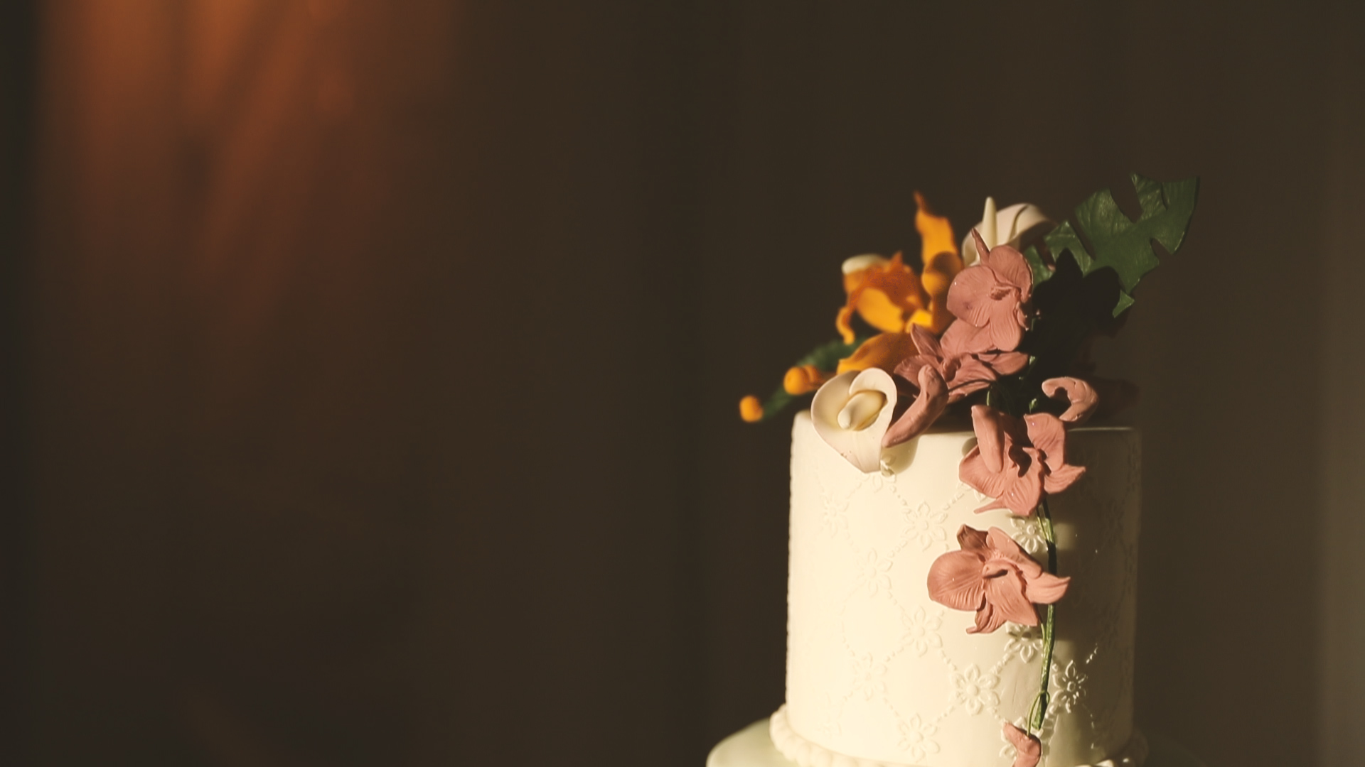 Confections on the Coast Cake Top - Bride Film