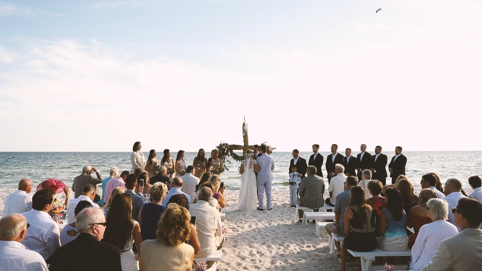Beach Wedding - Bride Film