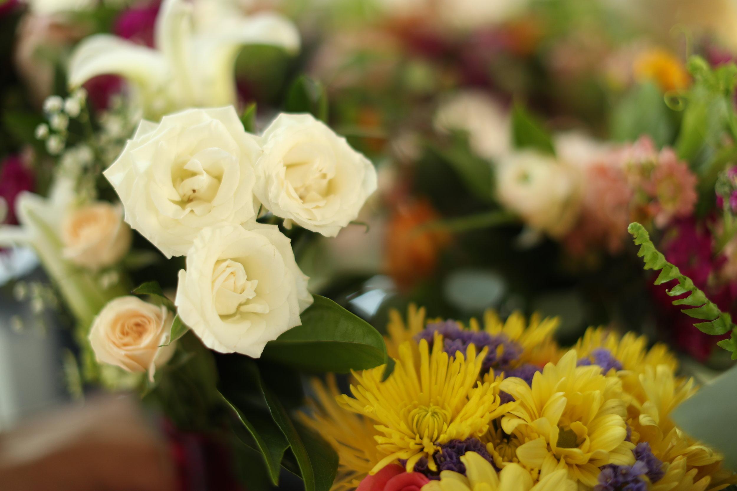 Bridesmaid Flowers - Bride Film