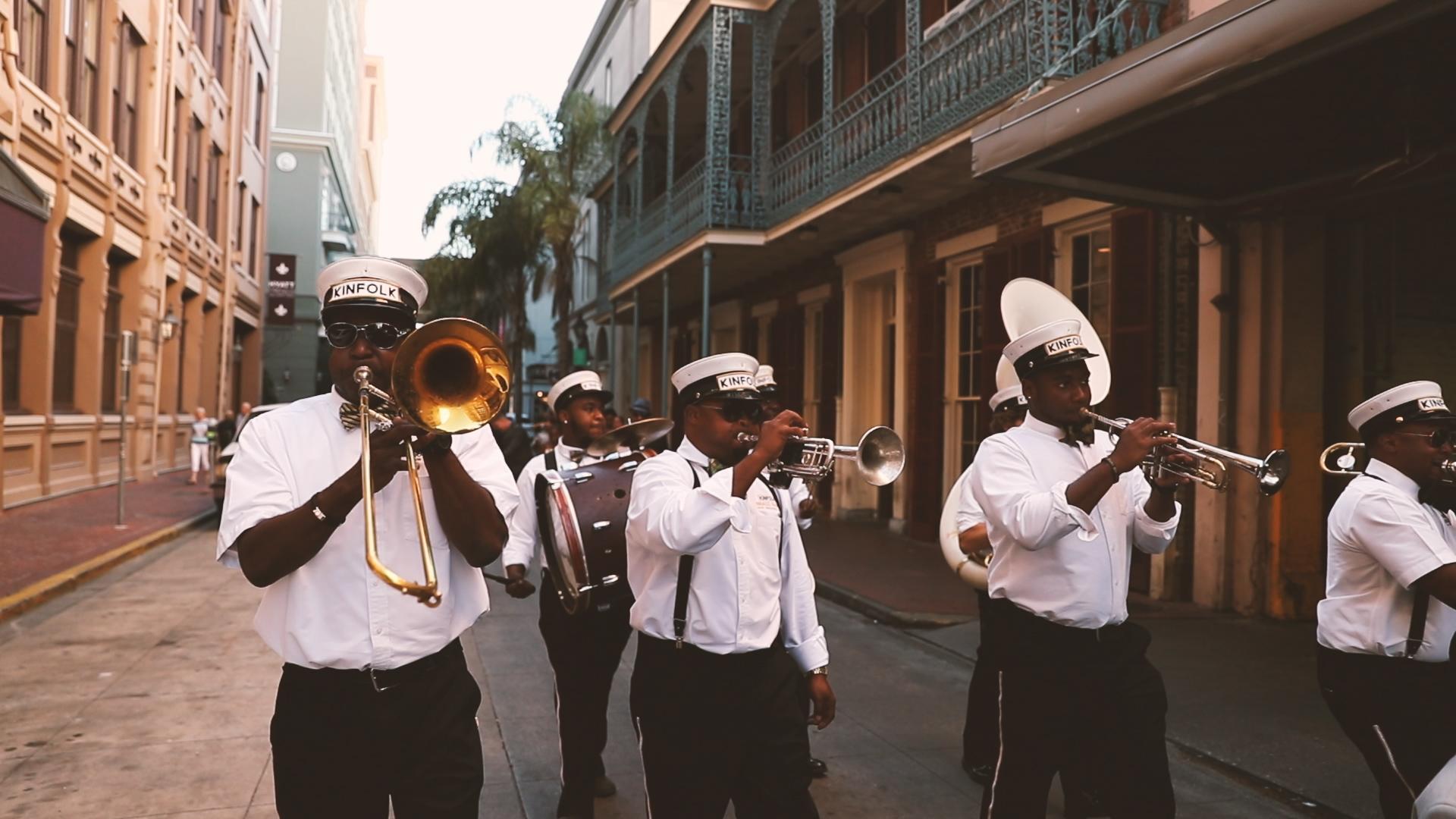 Kinfolk Brass Band - Bride Film