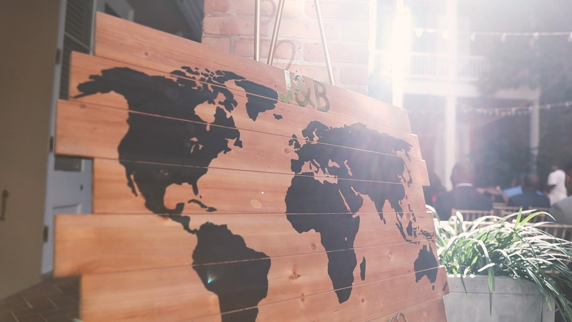 World Map - Bride Film