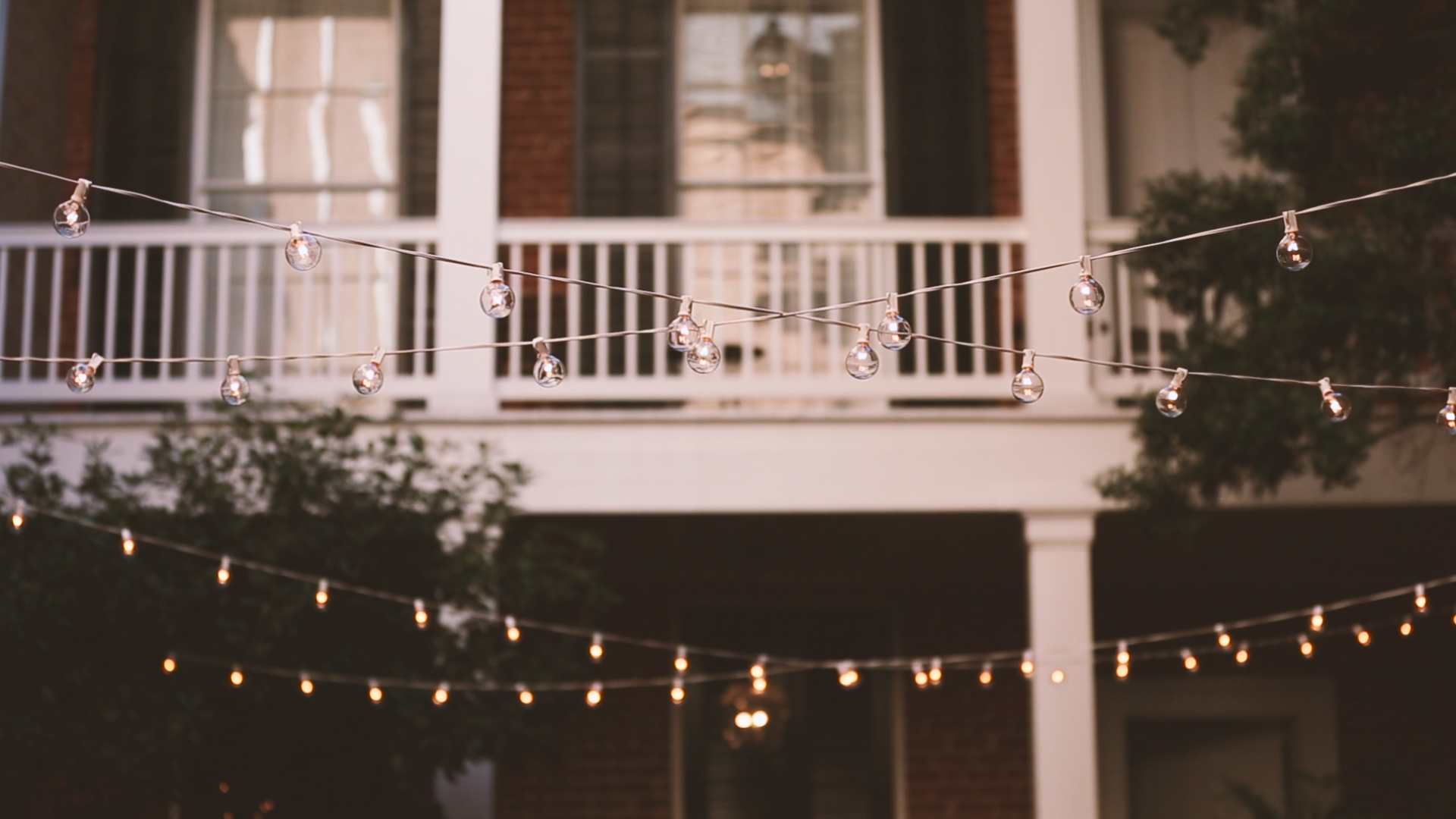 String Lighting - Bride Film